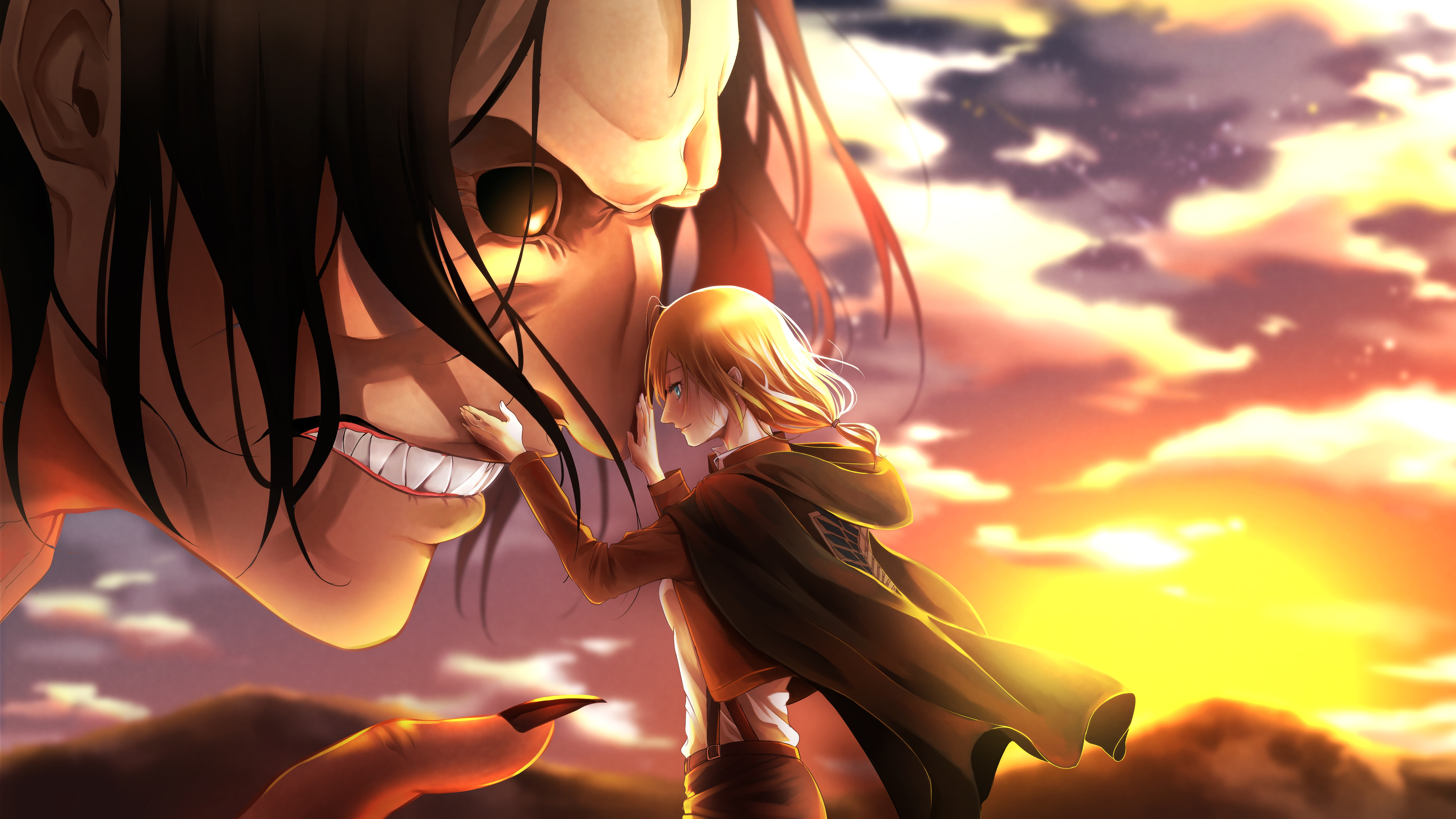 1336x768 Attack On Titan Mina Carolina Laptop Hd Hd 4k Wallpapers Images Backgrounds Photos And Pictures