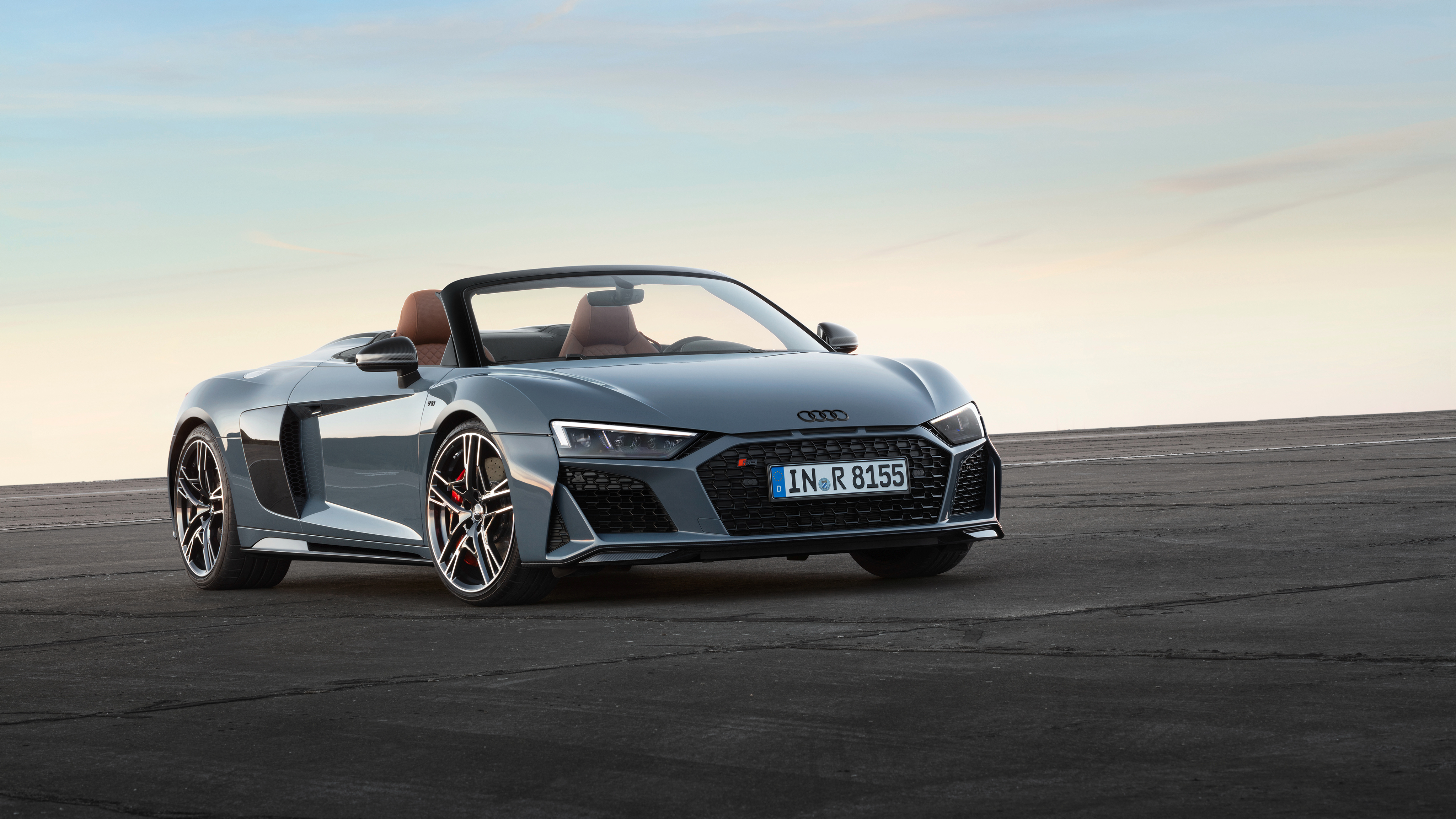 Audi R8 Spyder V10 2019 Front Hd Cars 4k Wallpapers Images Backgrounds Photos And Pictures