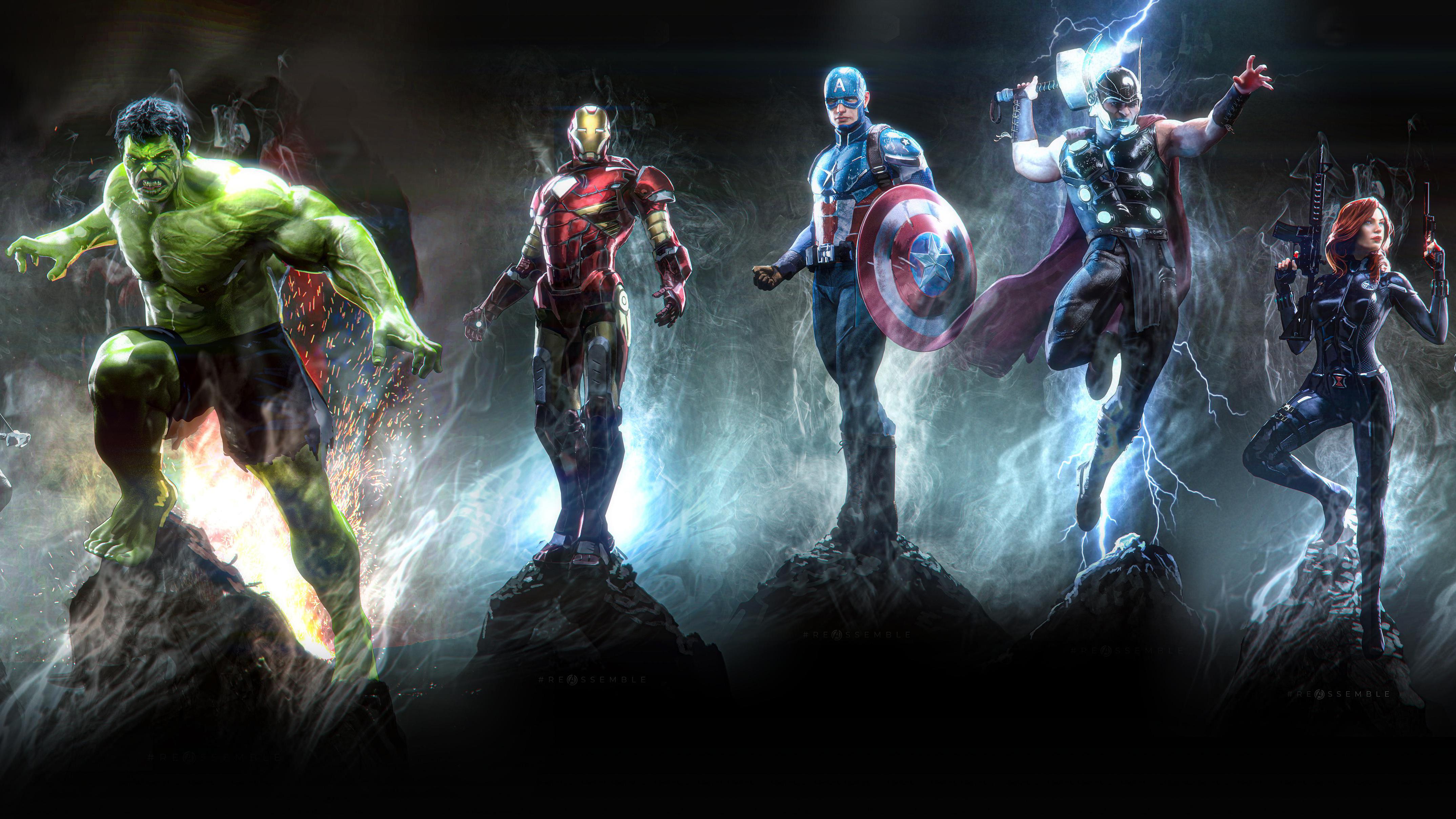2880x1800 Avengers 4k Art Macbook Pro ...