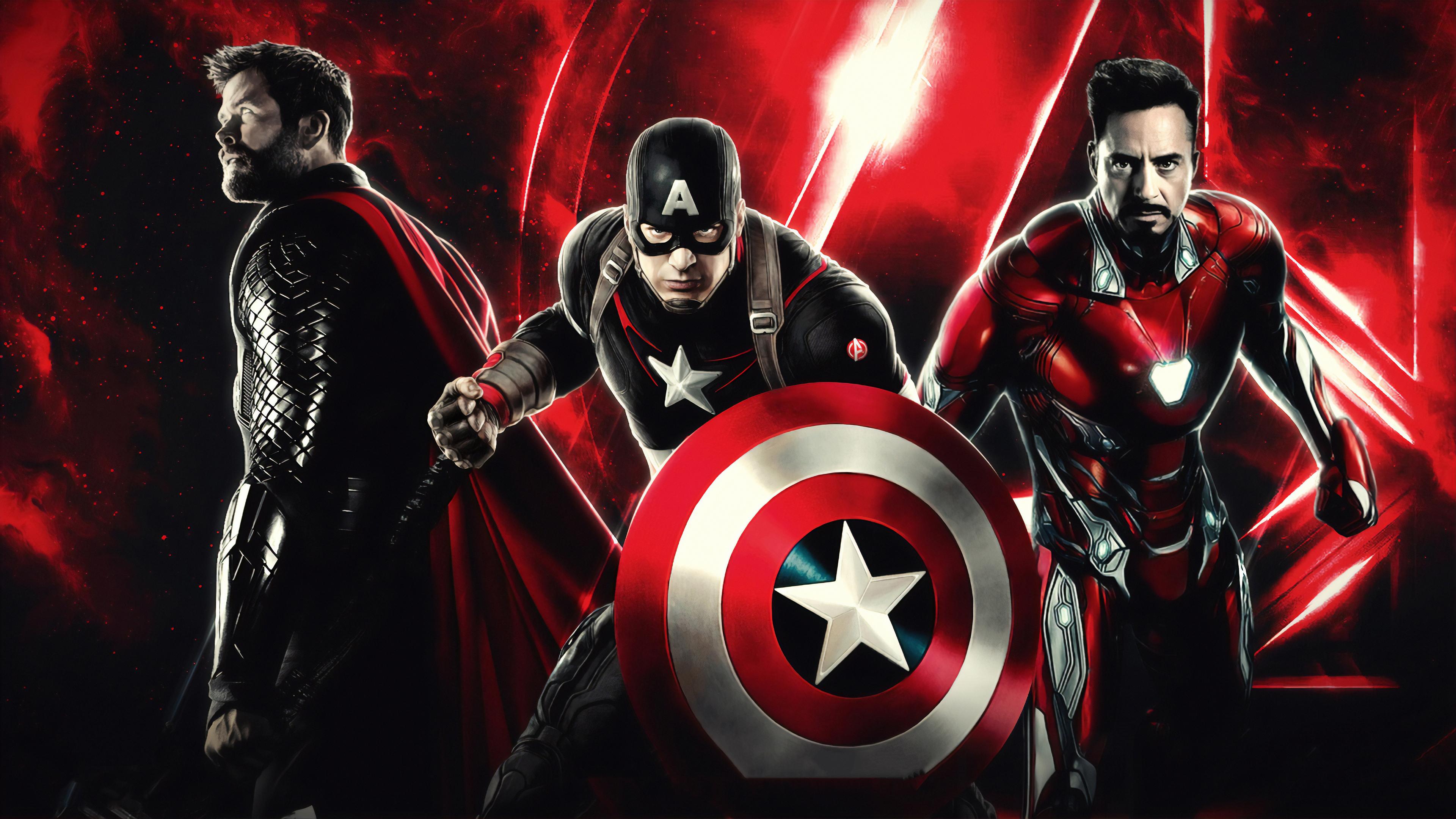 Avengers End Game 4k, HD Superheroes ...