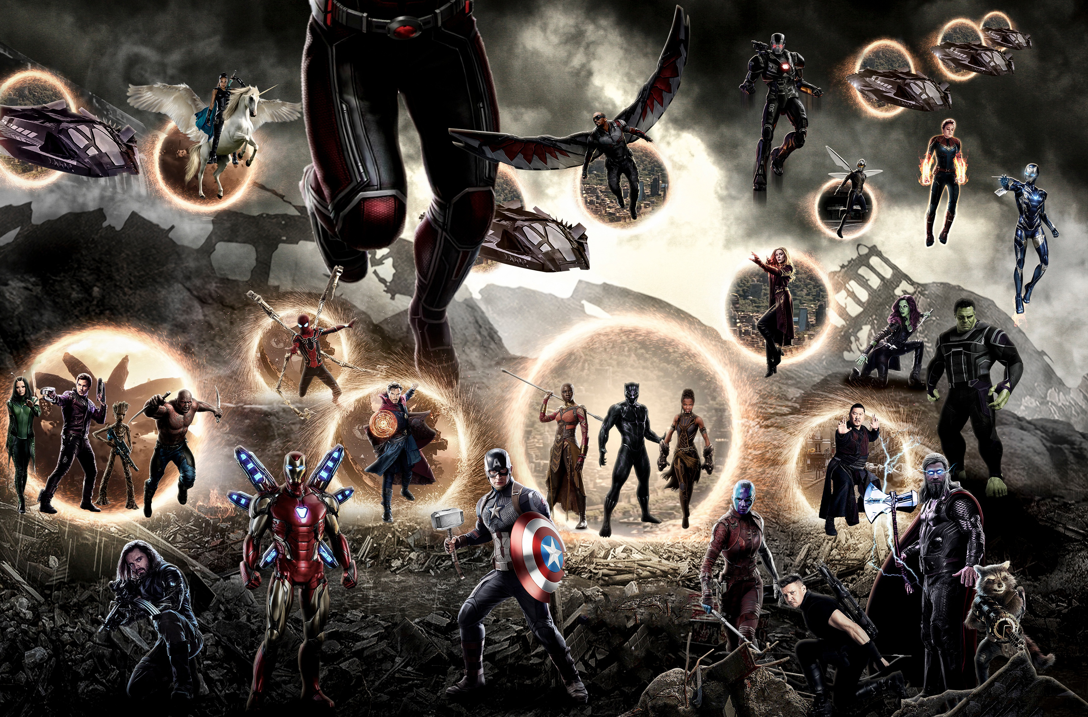 Avengers Endgame Final Battle 4k Hd Superheroes 4k Wallpapers Images Backgrounds Photos And Pictures