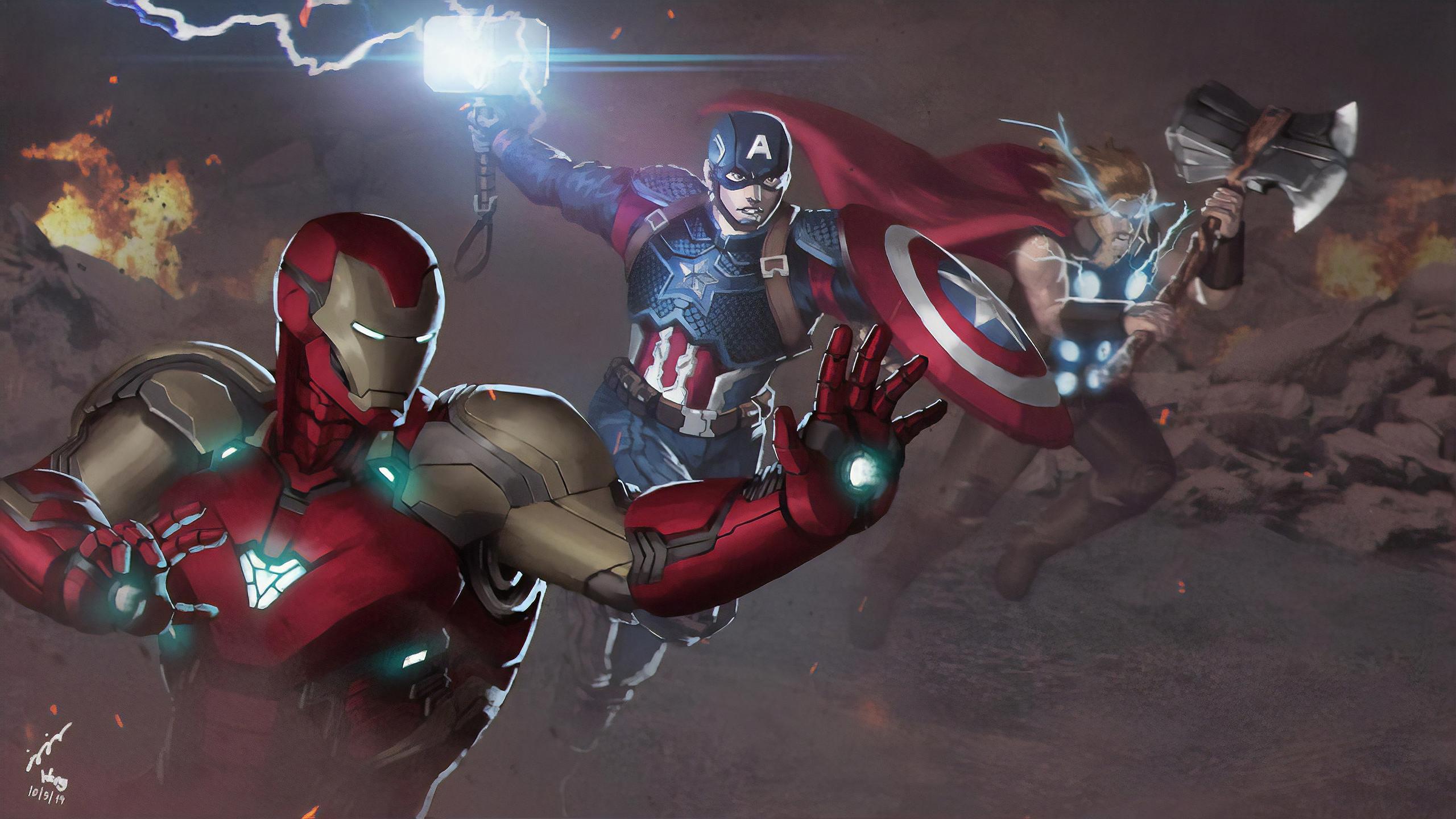 Avengers Endgame Final Battle Hd Superheroes 4k Wallpapers