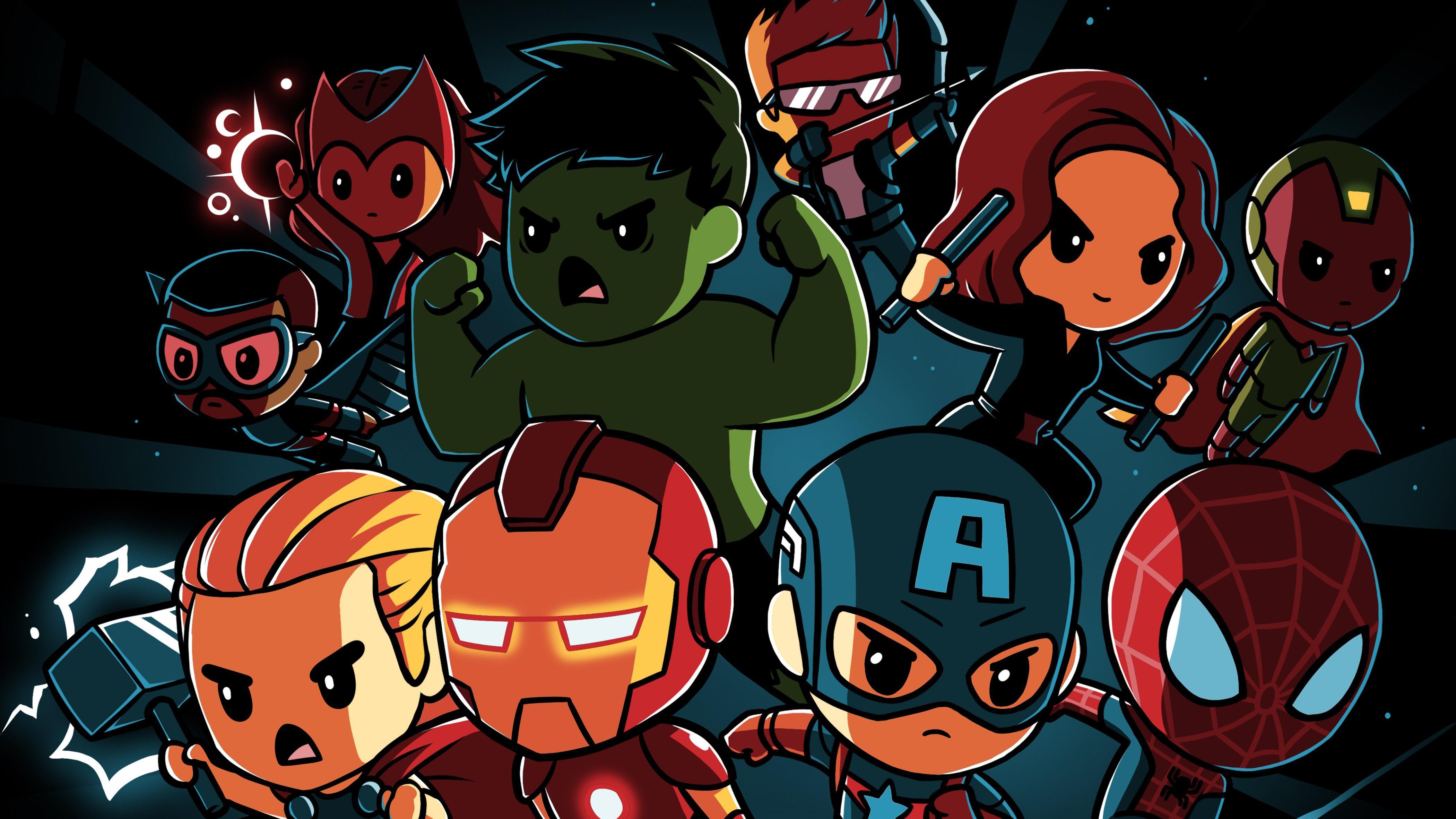 Avengers Infinity War Little Superheroes, HD Superheroes ...