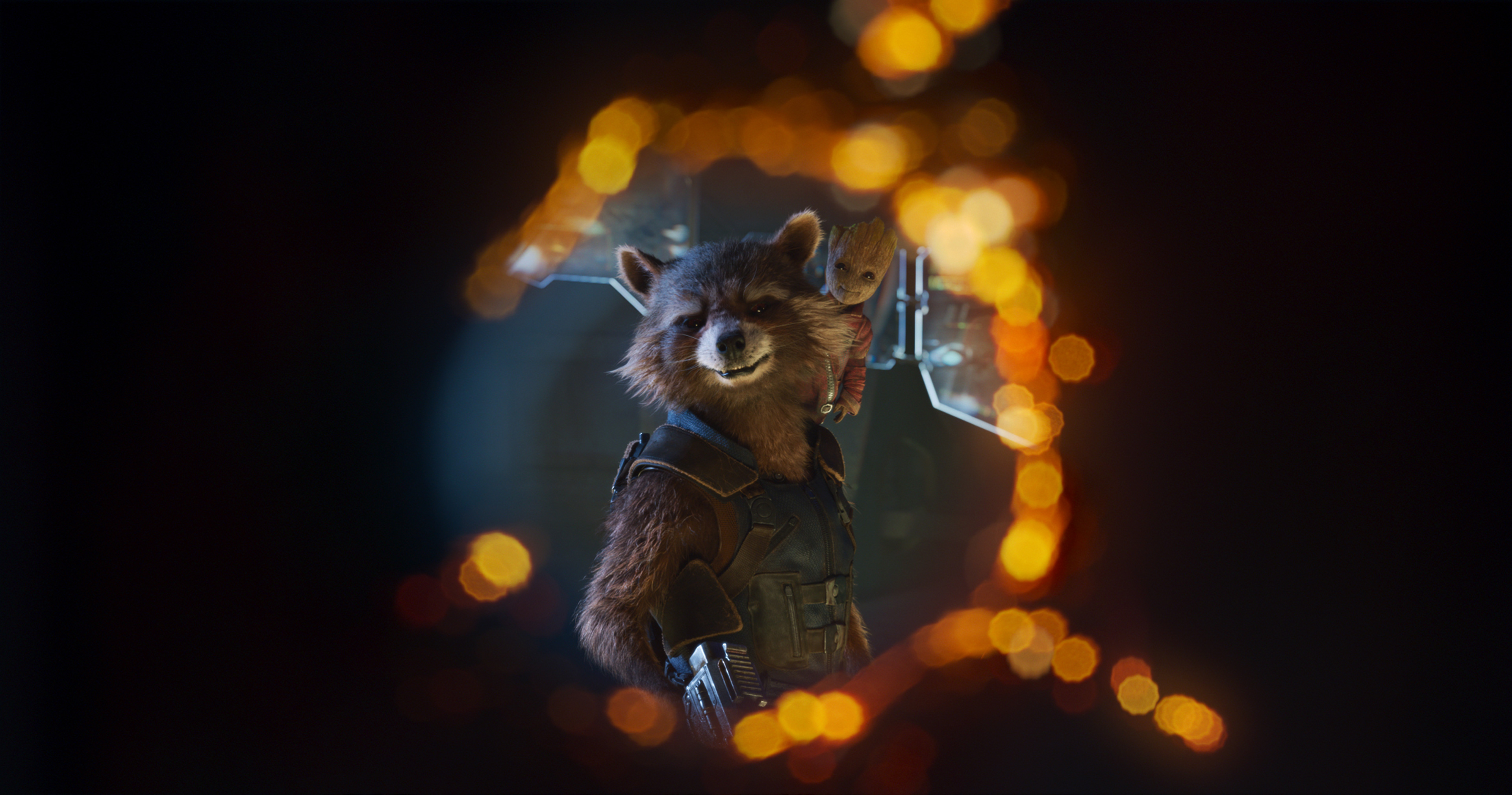 1600x900 Baby Groot And Rocket 4k Guardians Of Galaxy 2 1600x900