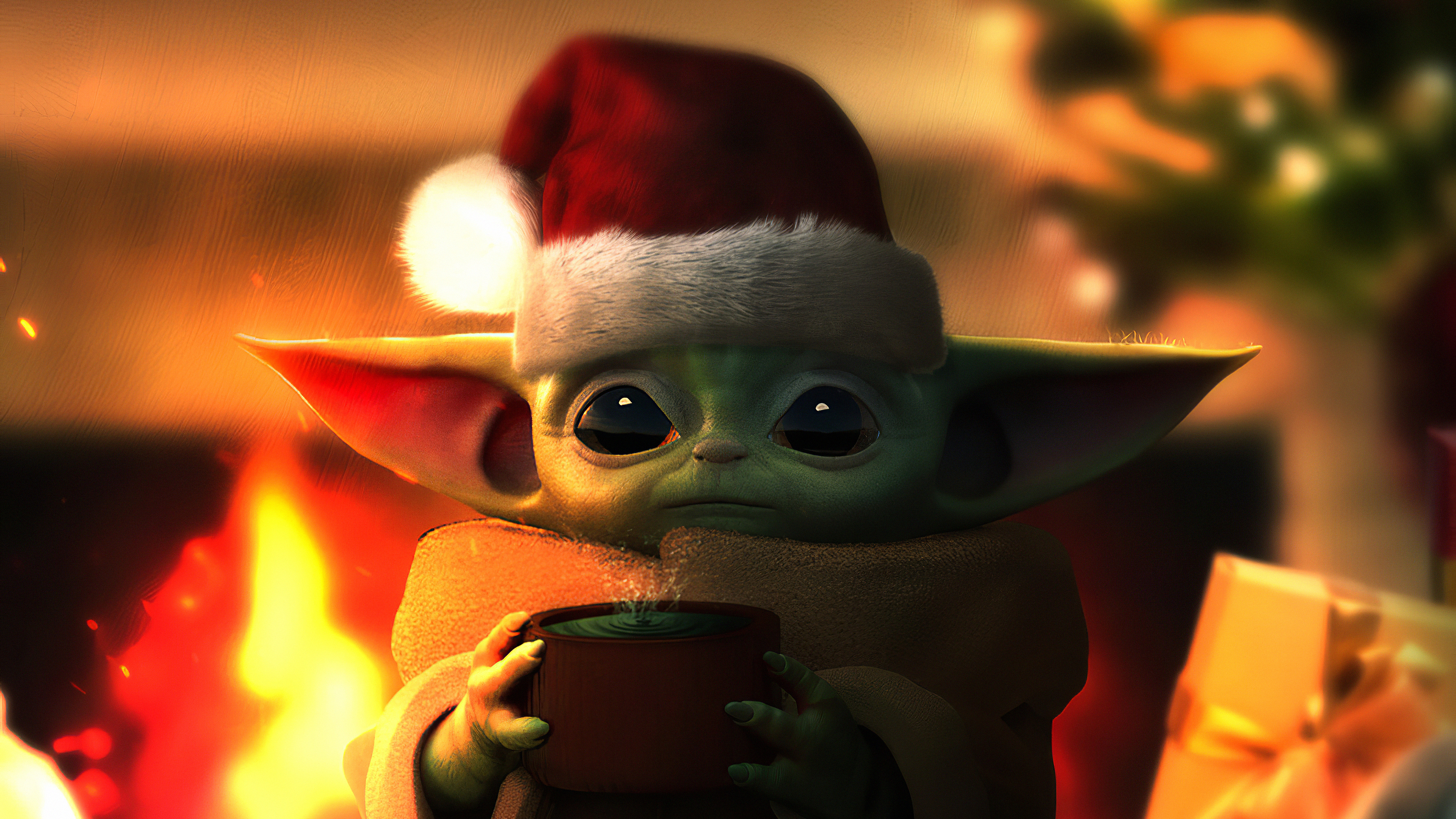 2048x1152 Baby Yoda Christmas 2048x1152 Resolution HD 4k ...