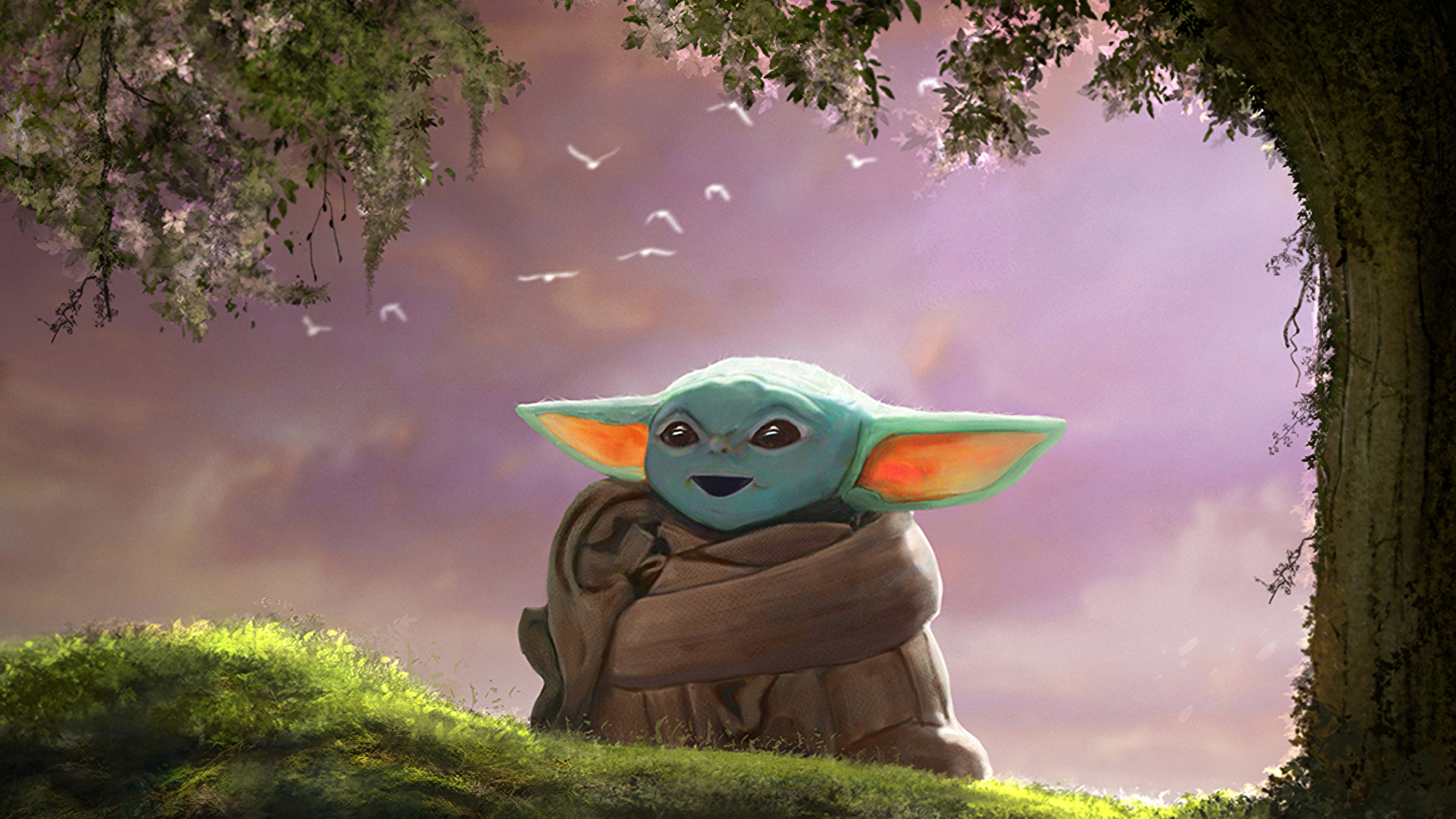 Baby Yoda Fanart 4k Hd Movies 4k Wallpapers Images Backgrounds Photos And Pictures