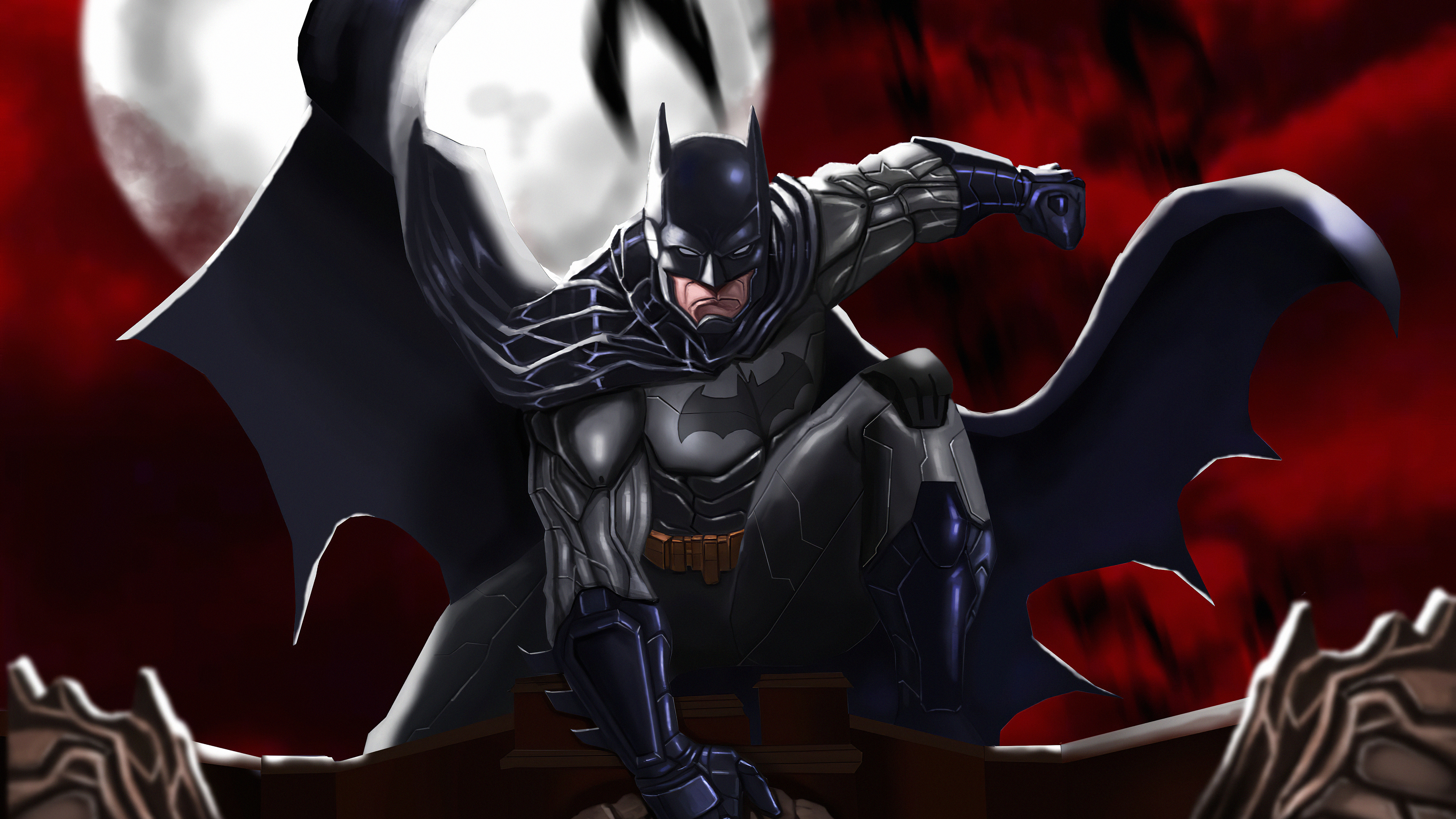 Batman 4k Artworknew, HD Superheroes, 4k Wallpapers ...