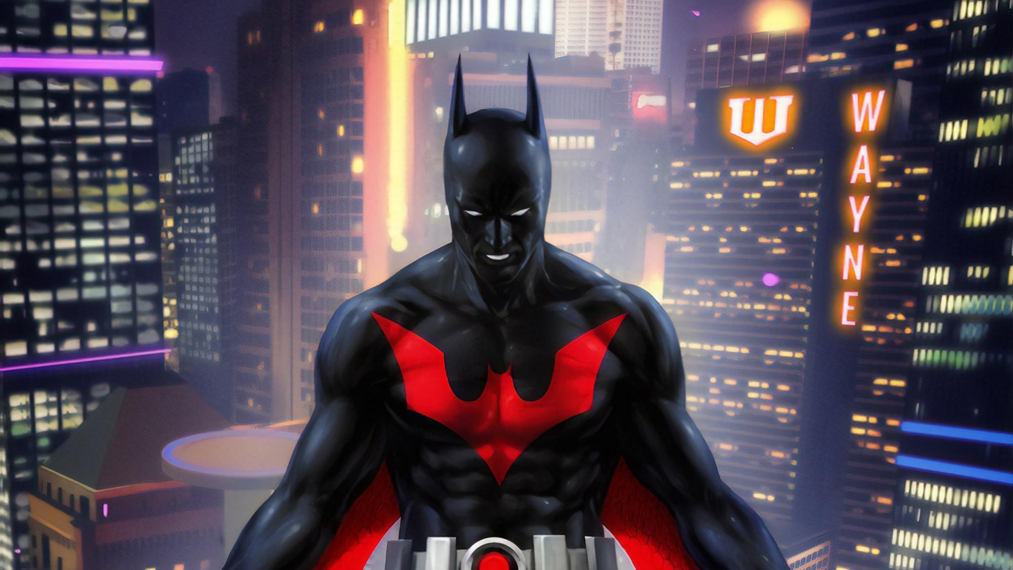 Batman Beyond Digital Art, HD Superheroes, 4k Wallpapers ...
