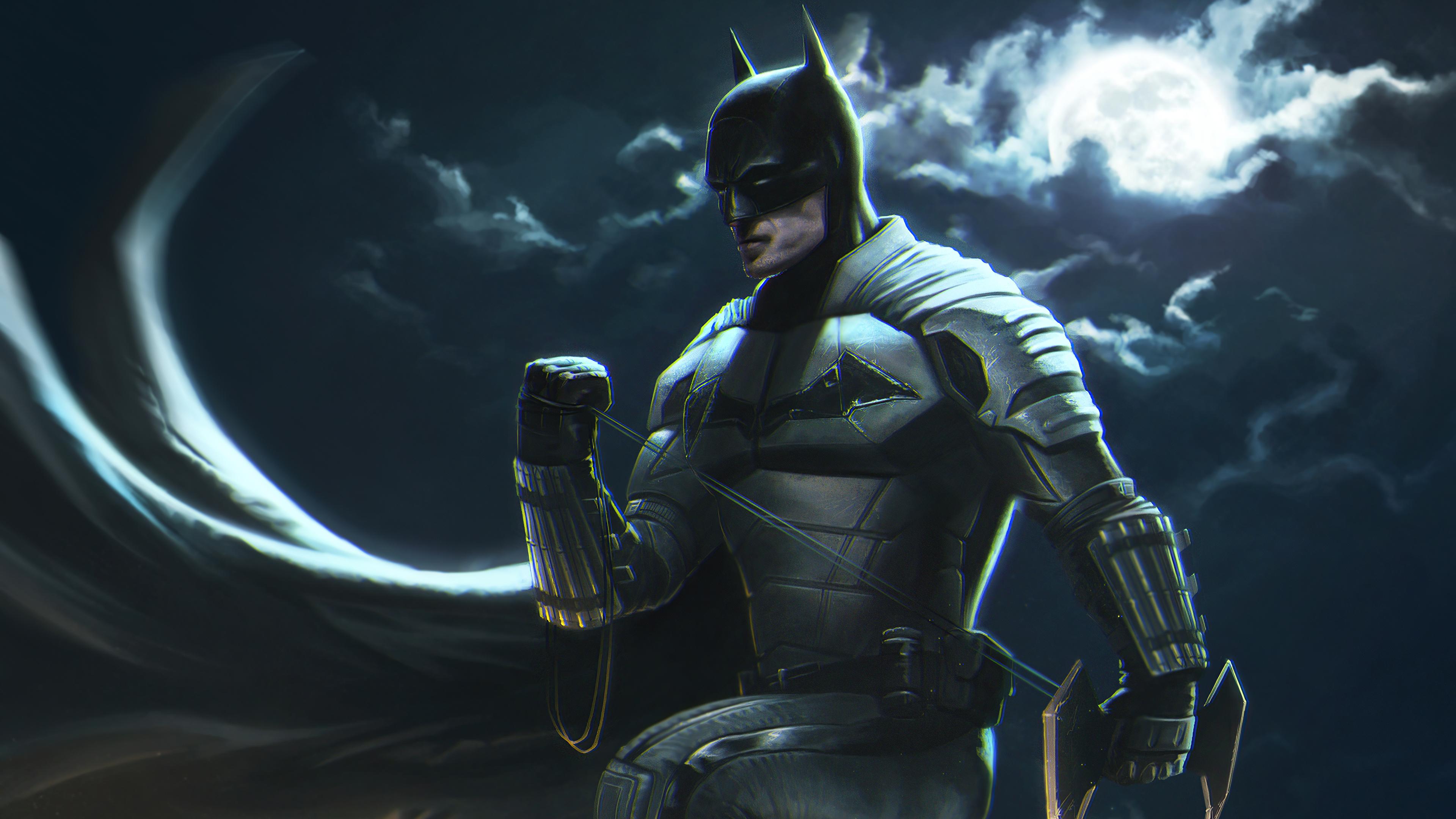 Batman Robert Pattinson 2021 4k, HD Superheroes, 4k ...