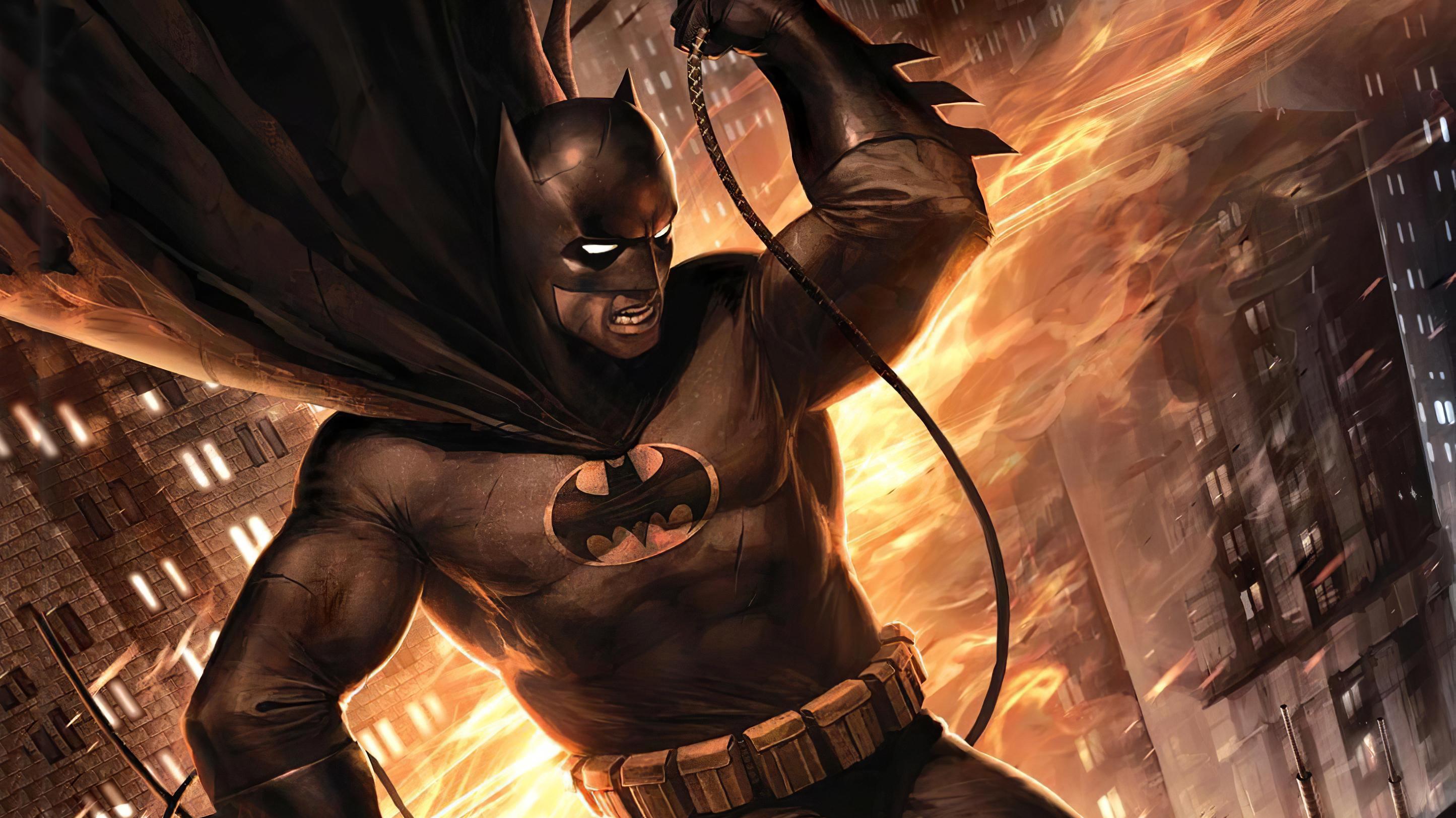 Batman The Dark Knight Returns Artwork Hd Superheroes 4k