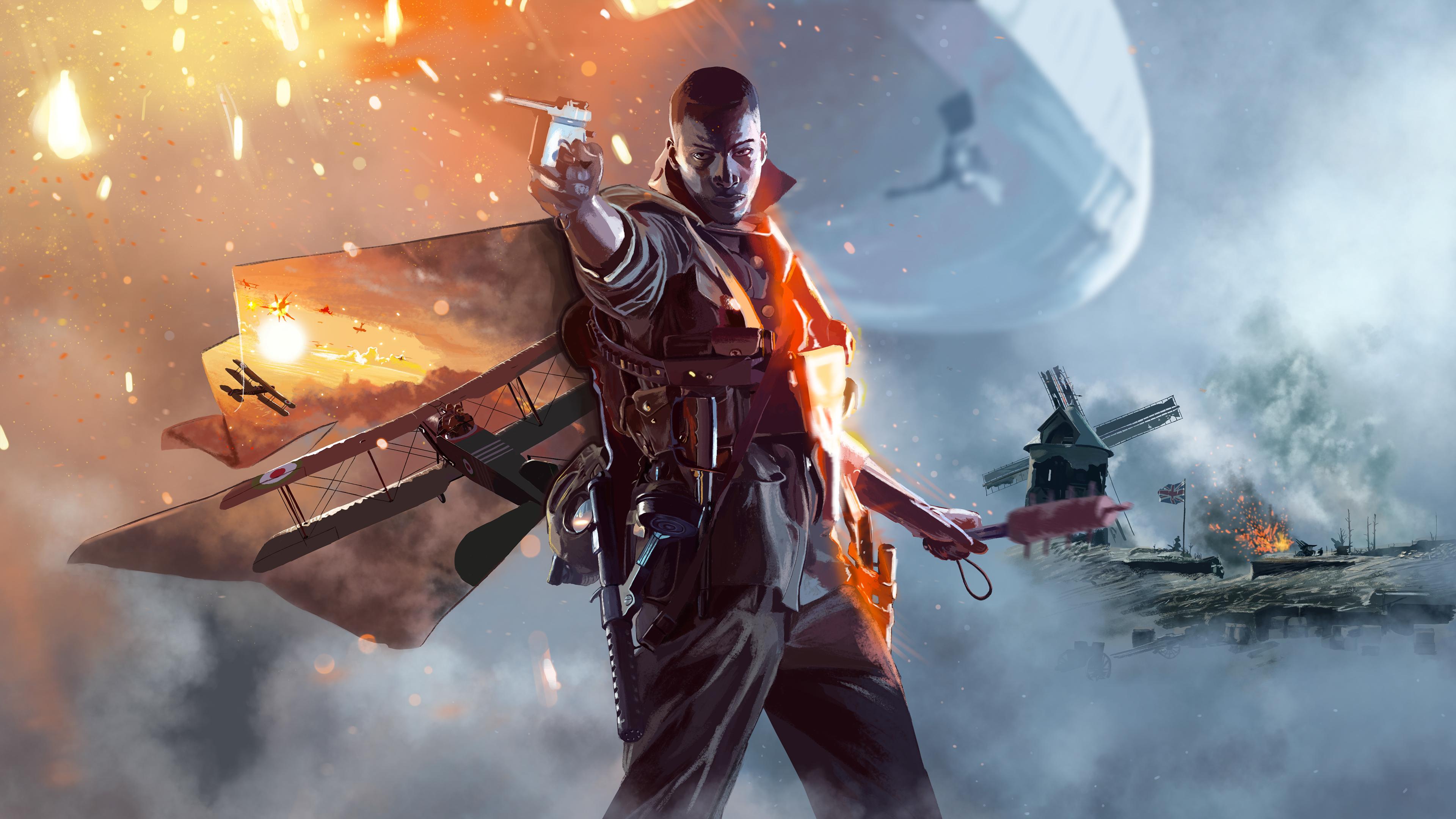 3840x2400 Battlefield 1 Illustration 4k HD 4k Wallpapers ...