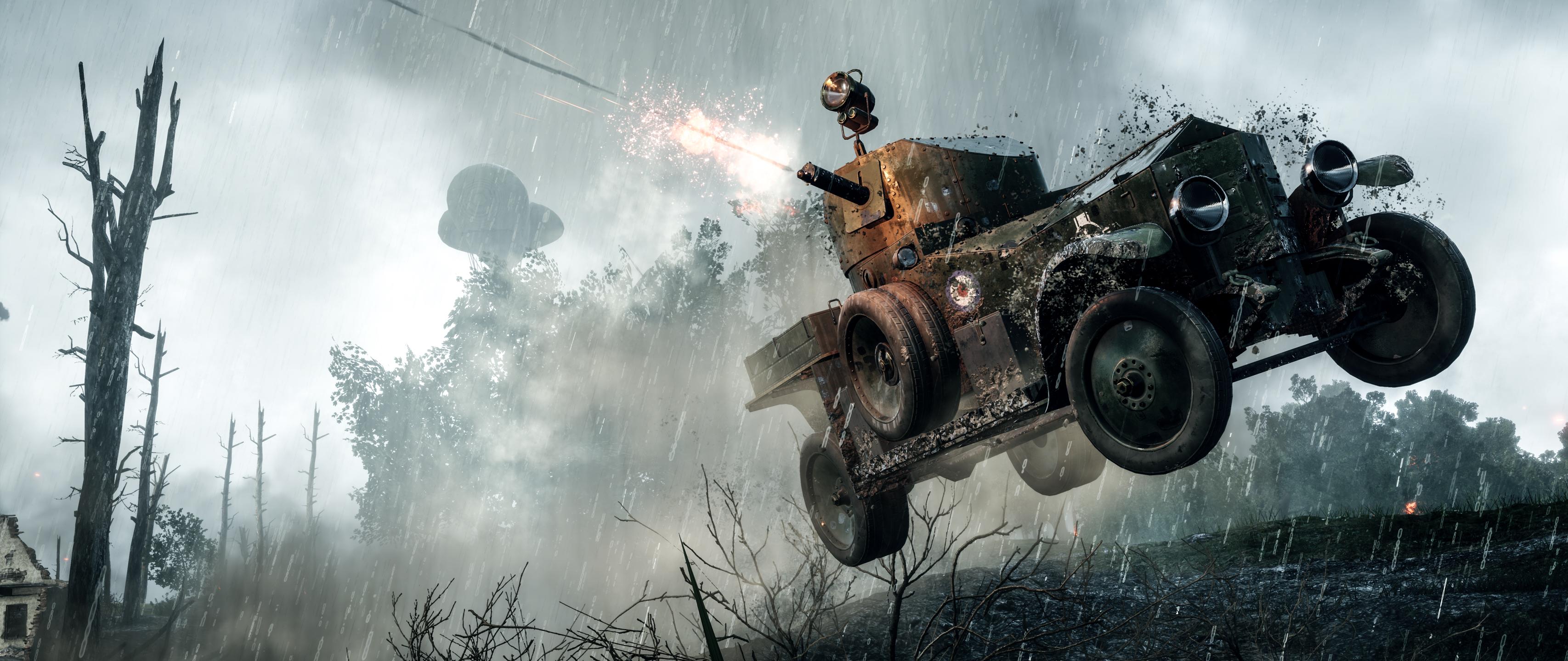 Battlefield 1 Wide, HD Games, 4k