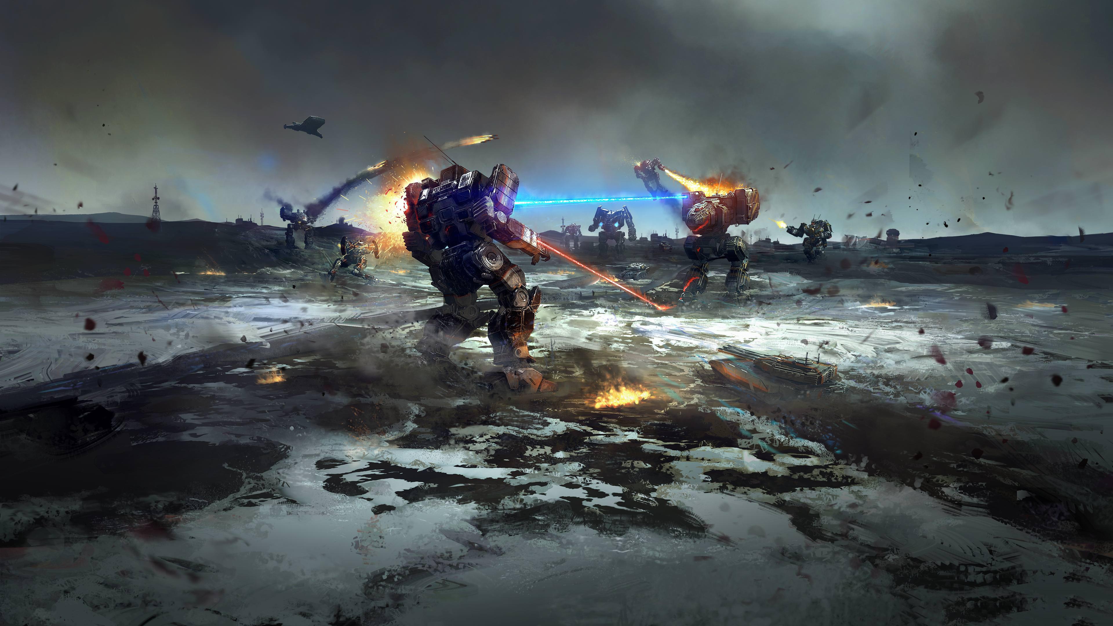 Battletech Game 2019, HD Games, 4k
