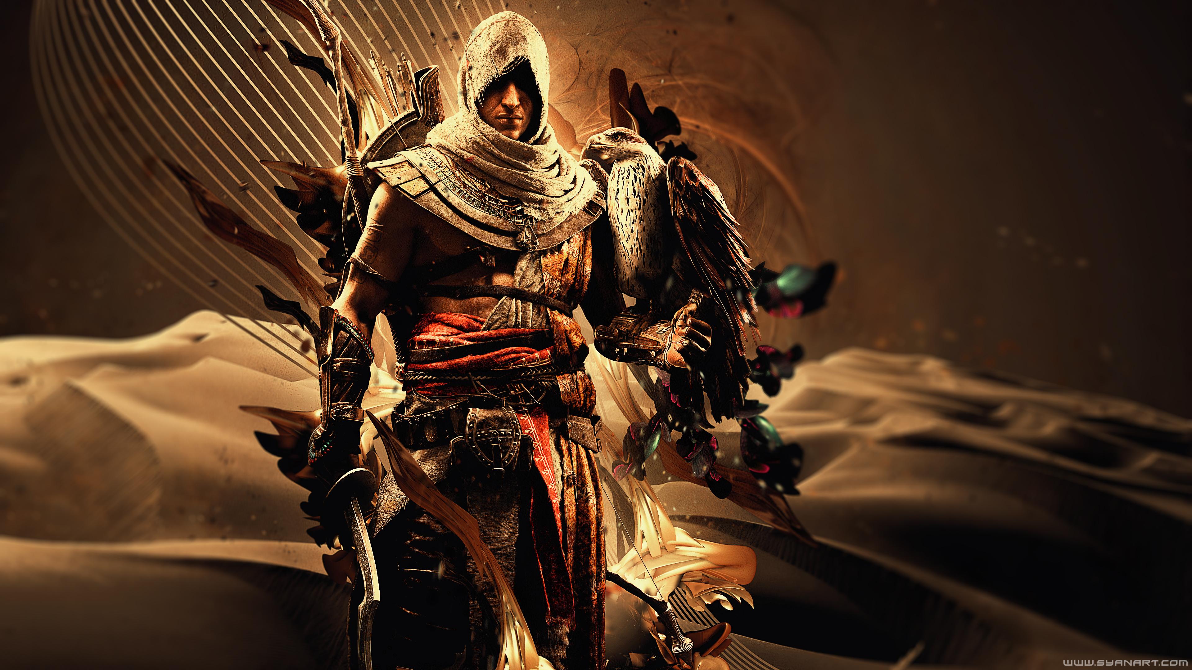 Bayek Of Siwa Assassins Creed Origins 4k Hd Games 4k Wallpapers