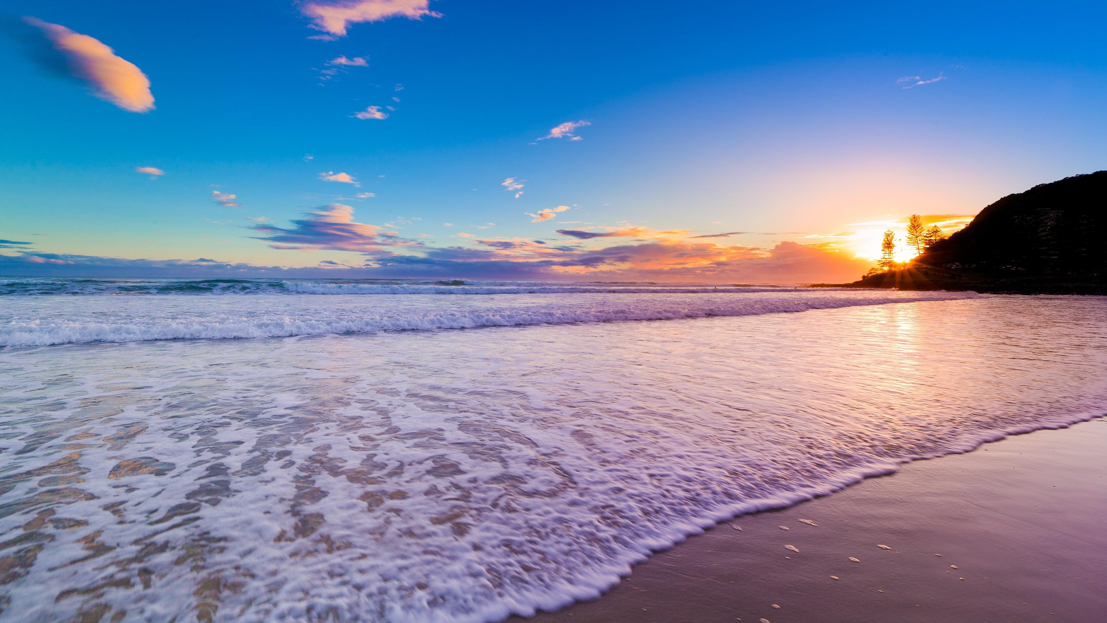 Beautiful Beach Sunset 4k Hd Nature 4k Wallpapers Images Backgrounds Photos And Pictures