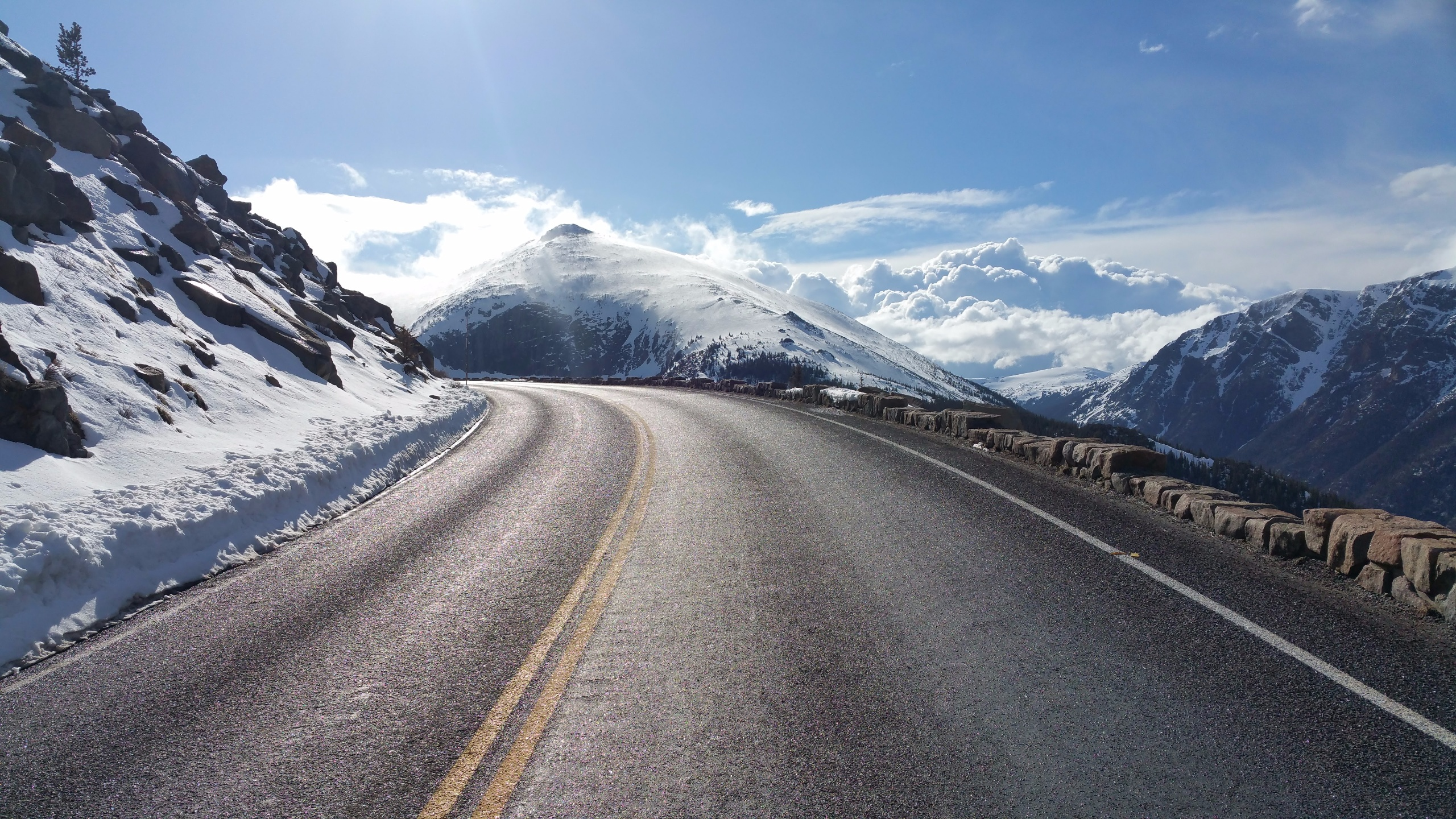 Beautiful Mountain Road Hd Nature 4k Wallpapers Images