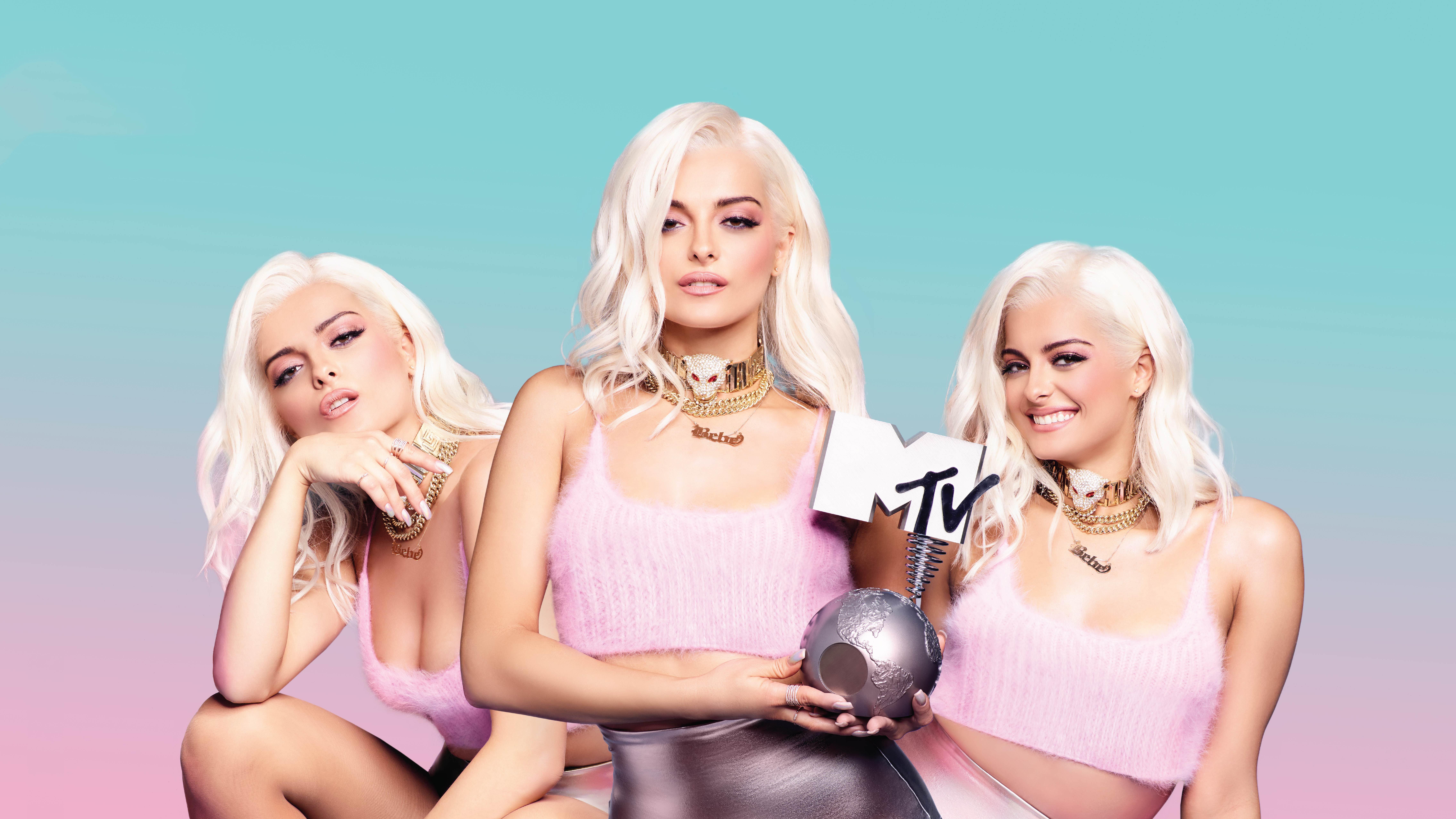 Bebe Rexha Mtv Hd Celebrities 4k Wallpapers Images