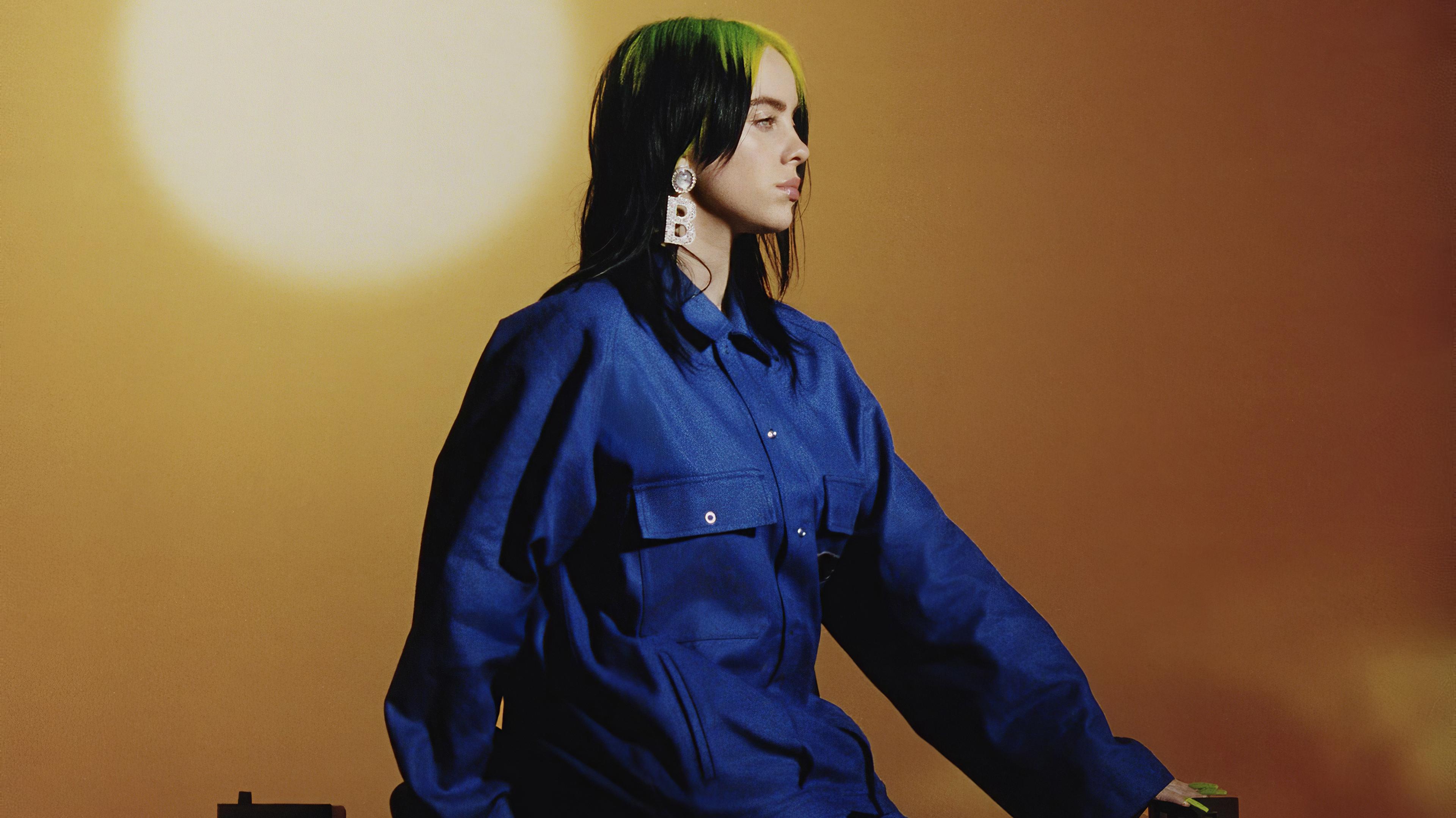 Billie Eilish Us Vogue March 2020 4k Hd Music 4k Wallpapers