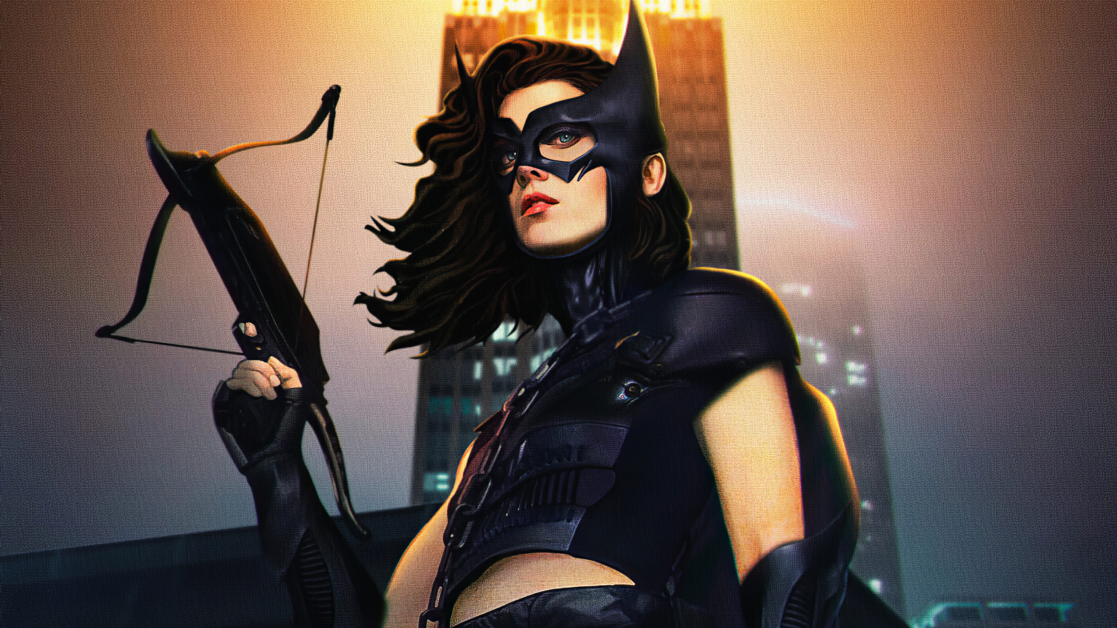 Birds Of Prey Huntress 4k Hd Superheroes 4k Wallpapers Images Backgrounds Photos And Pictures