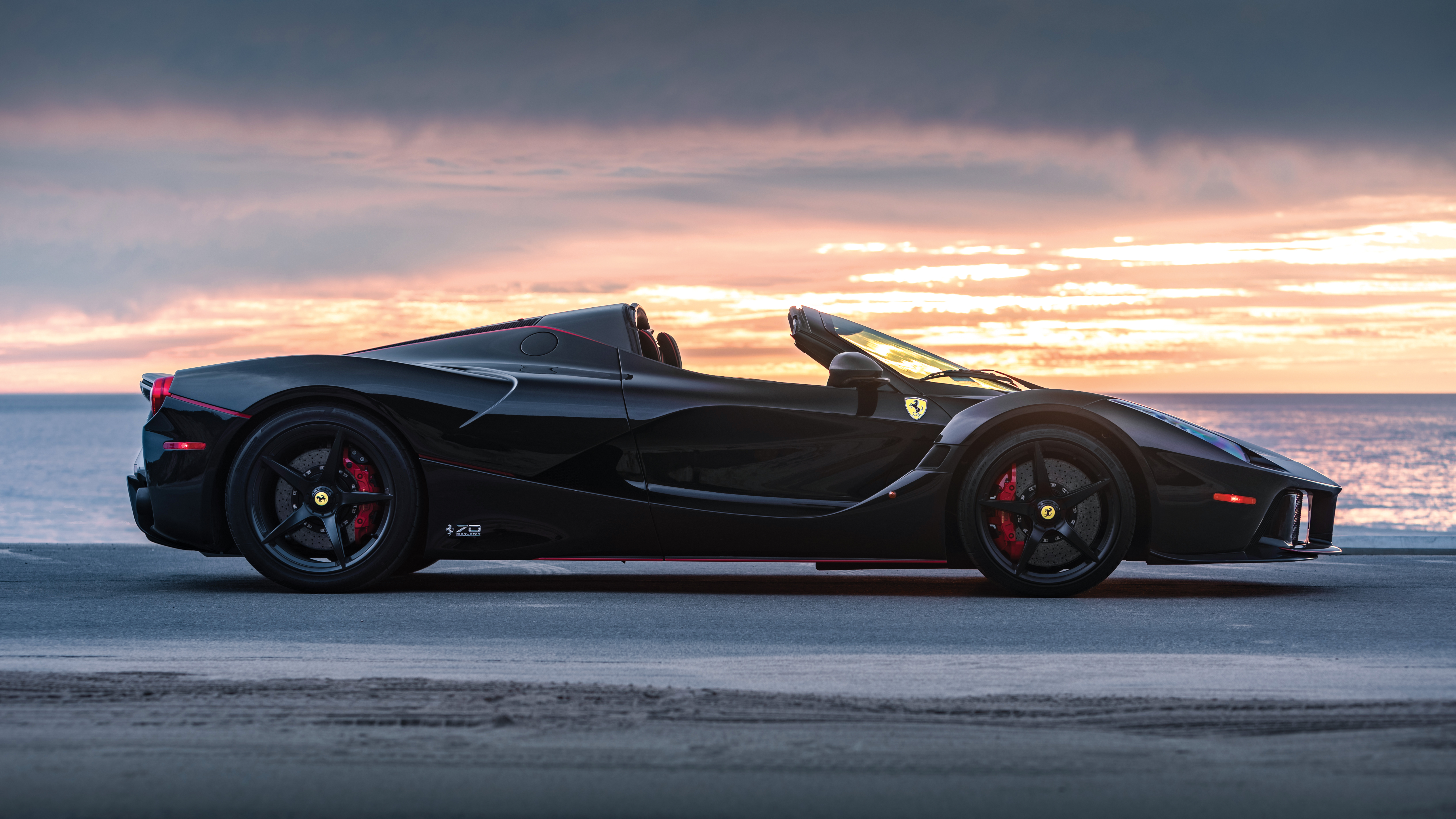 Black Ferrari Hd Cars 4k Wallpapers Images Backgrounds Photos And Pictures