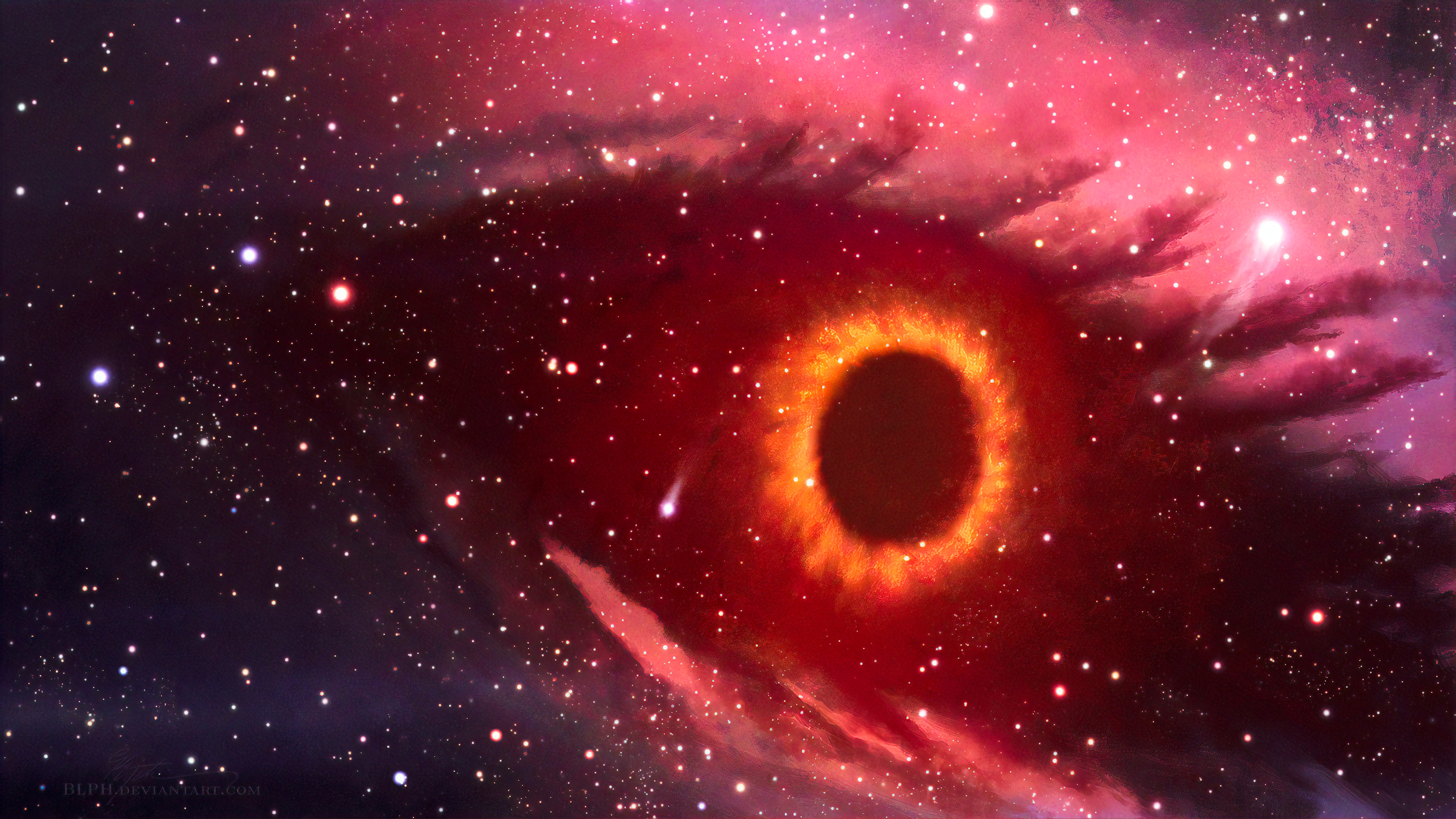 Black Hole Eye 4k Hd Digital Universe 4k Wallpapers Images Backgrounds Photos And Pictures