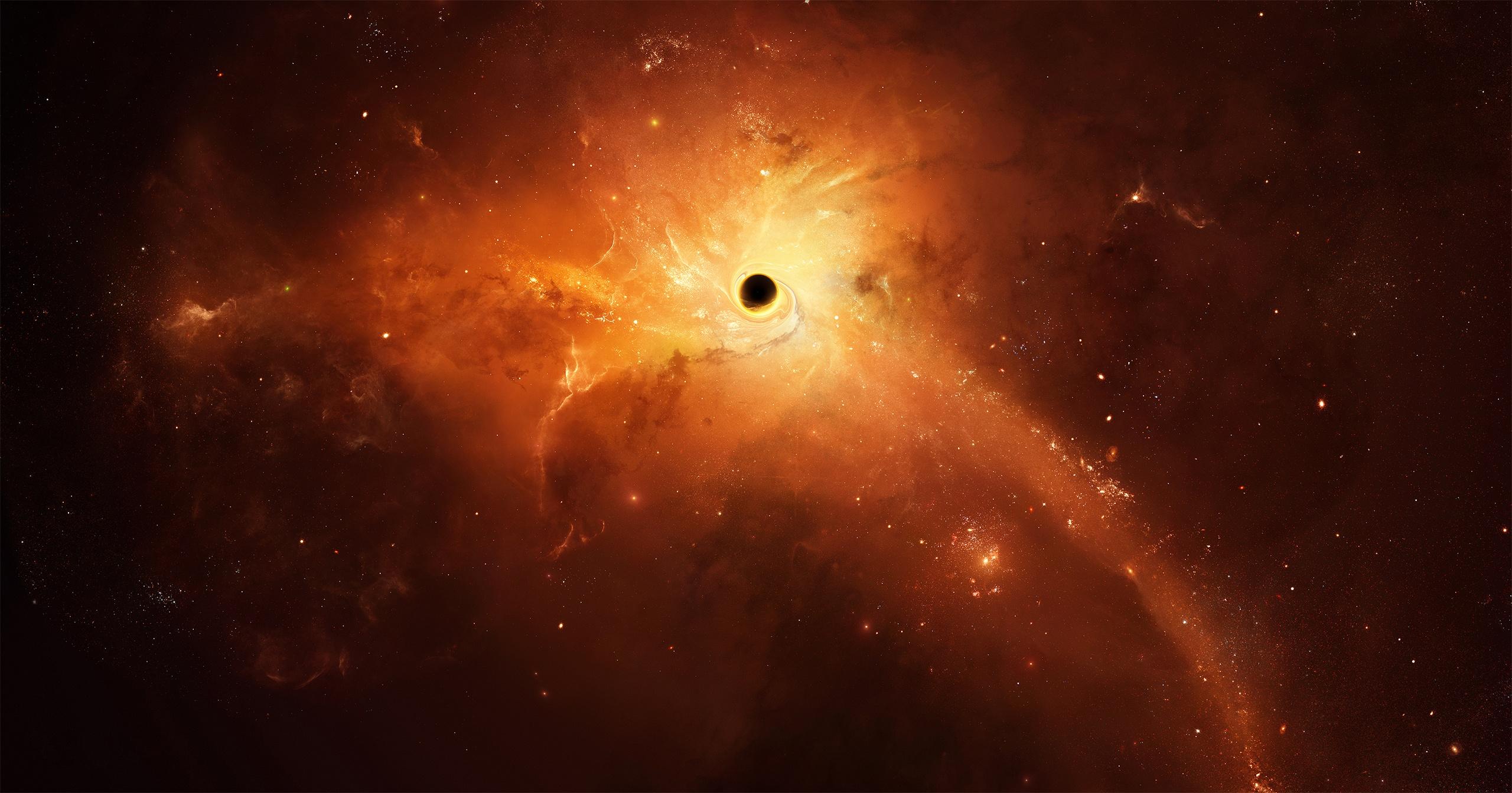 2560x1440 Black Holes Space 1440P Resolution HD 4k ...