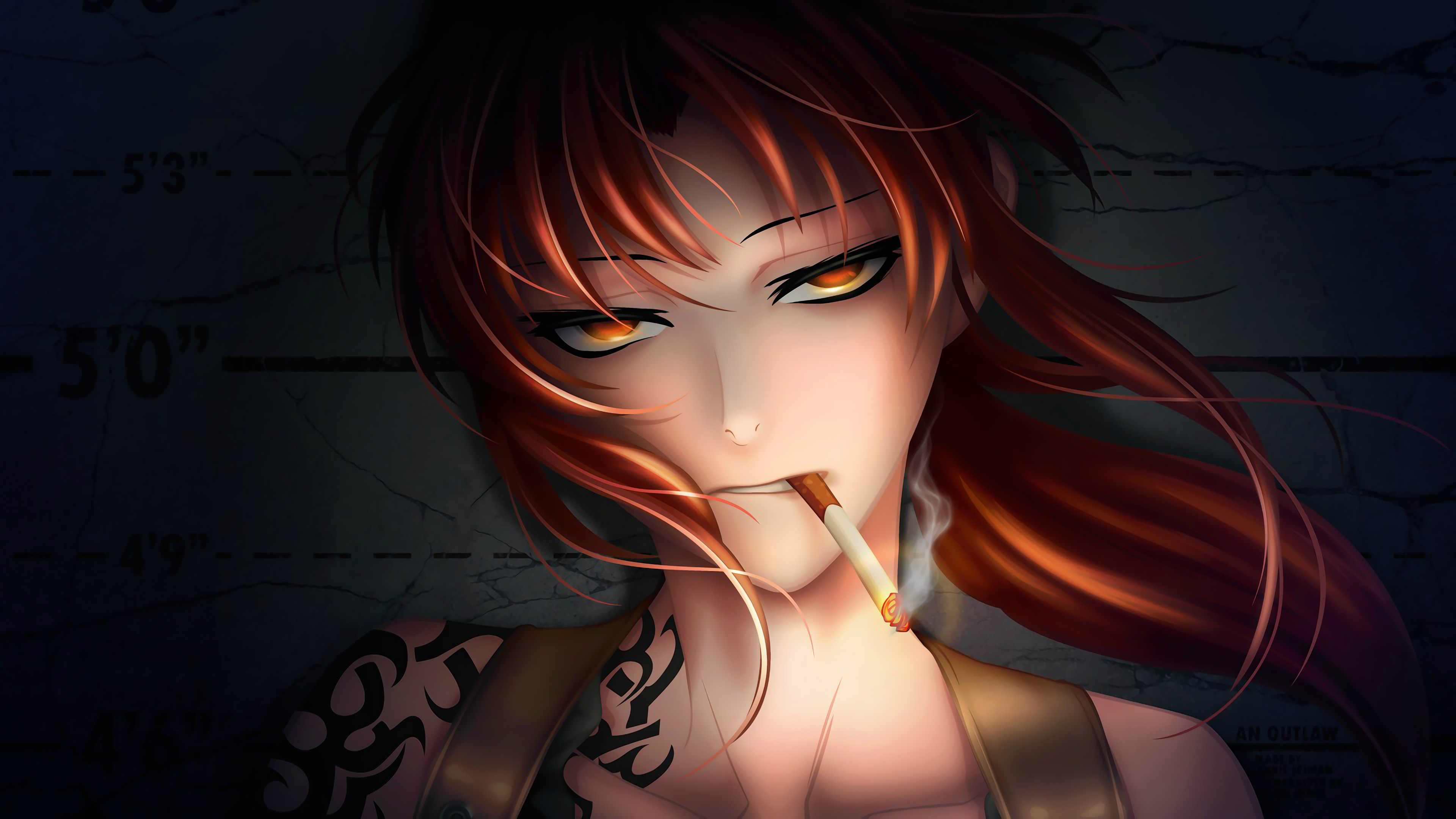 1125x2436 Black Lagoon Revy Anime 4k Iphone Xs Iphone 10 Iphone X Hd 4k Wallpapers Images Backgrounds Photos And Pictures