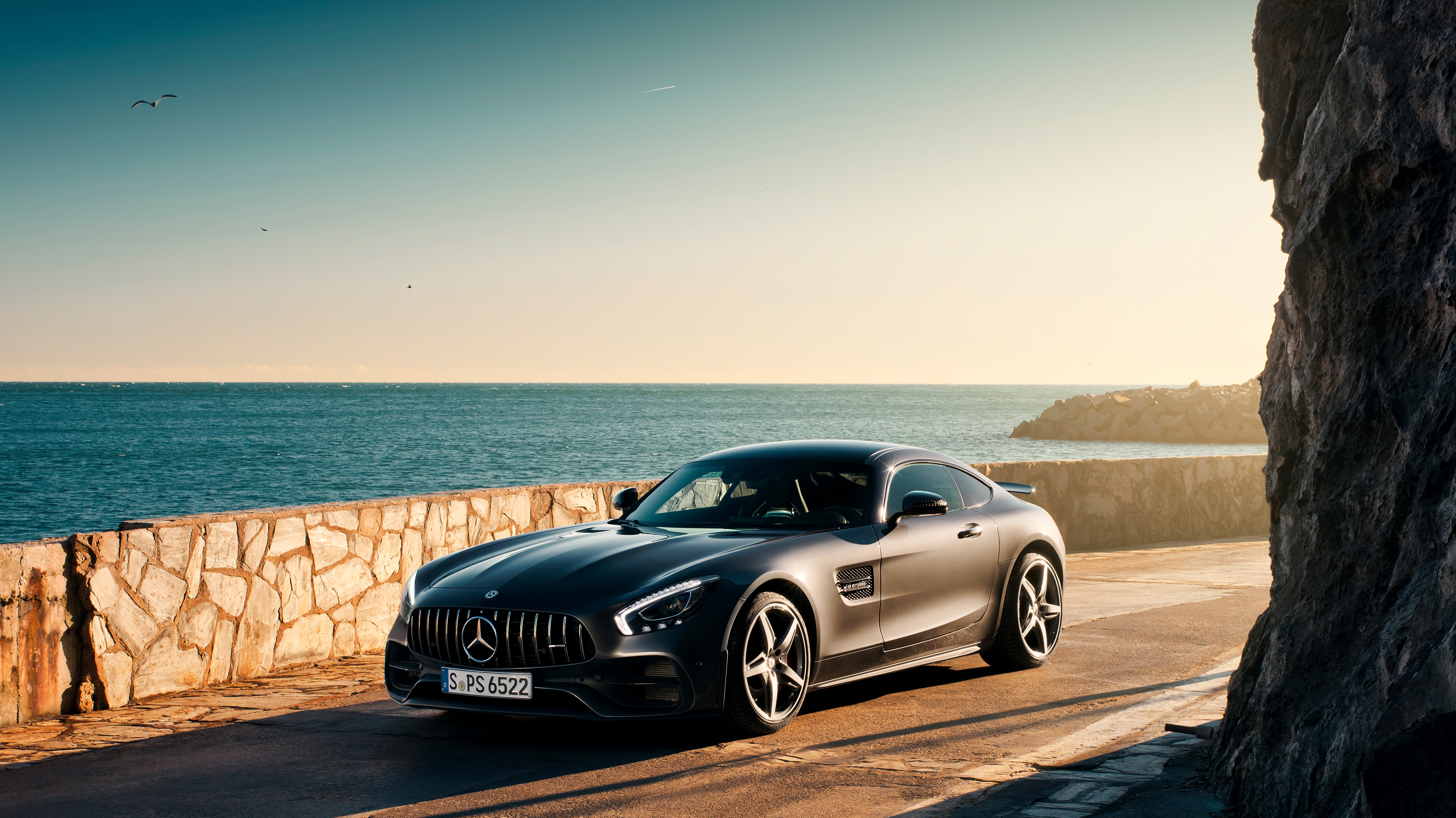 Black Mercedes Benz Amg GT, HD Cars, 4k Wallpapers, Images ...