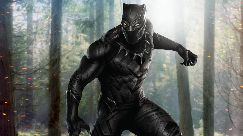 1920x1080 Black Panther In Jungle Laptop Full HD 1080P HD ...