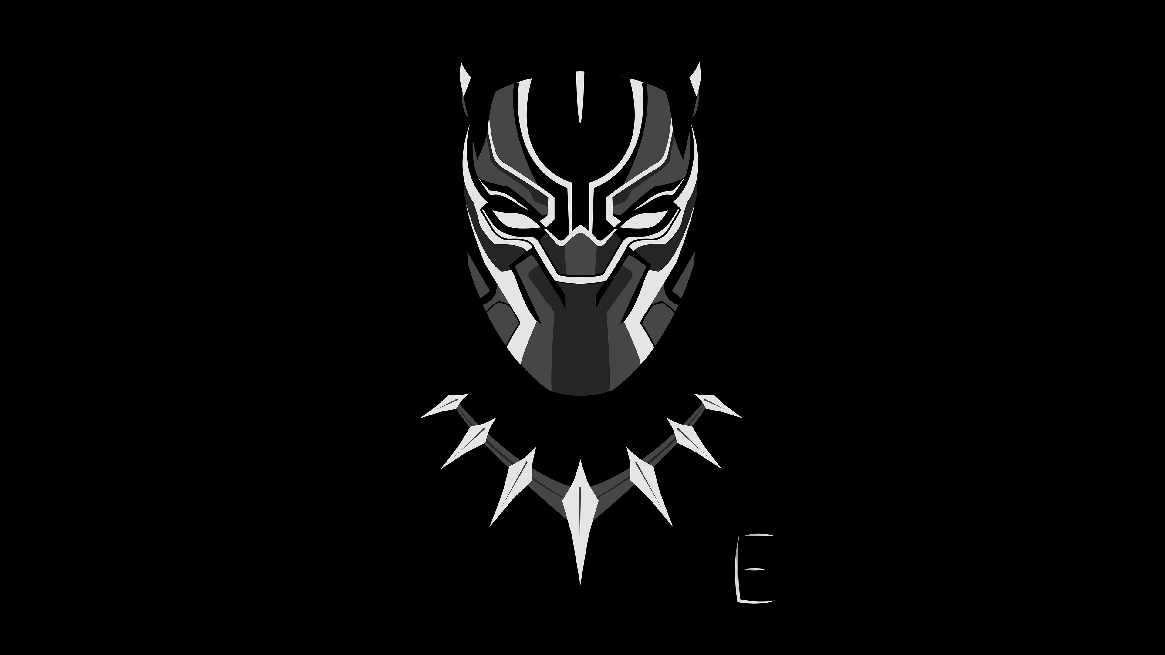 Black Panther Minimalism 4k Hd Artist 4k Wallpapers Images Backgrounds Photos And Pictures