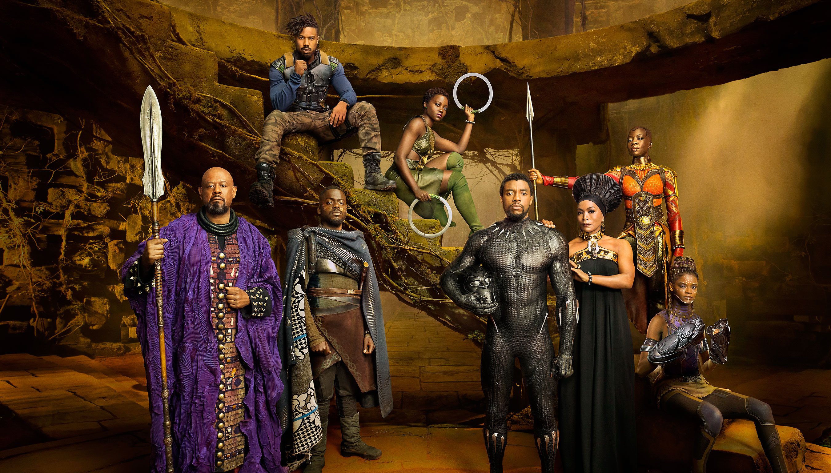 1280x1024 Black Panther Movie Cast 1280x1024 Resolution Hd 4k Wallpapers Images Backgrounds Photos And Pictures