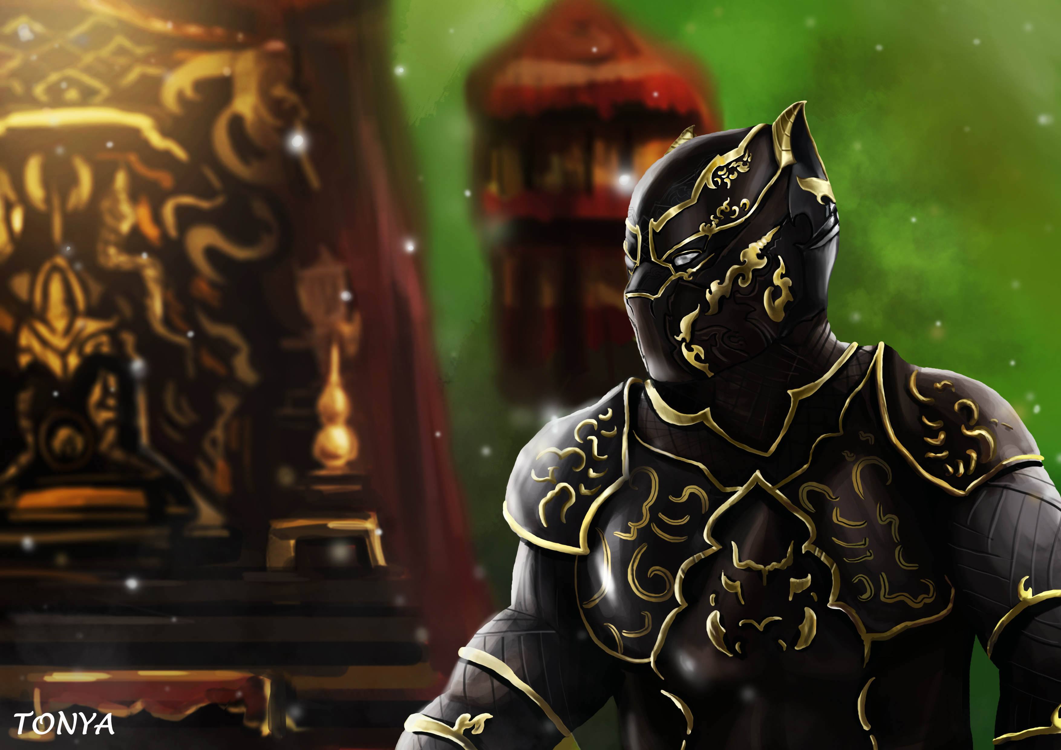 1920x1080 Black Panther Wakanda King Artwork Laptop Full Hd 1080p Hd 4k Wallpapers Images Backgrounds Photos And Pictures