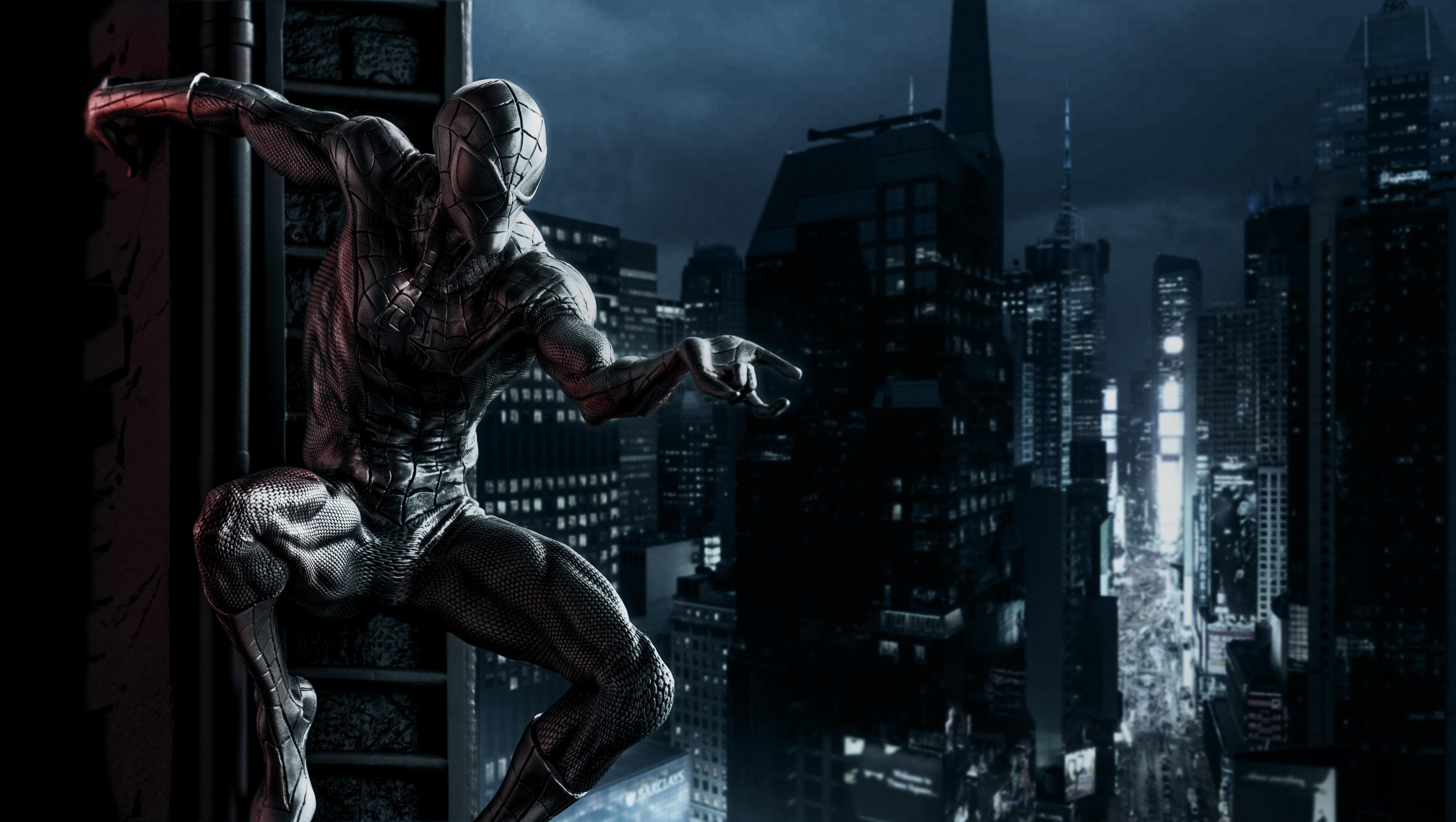 1920x1080 Black Spiderman 5k Laptop Full HD 1080P HD 4k ...