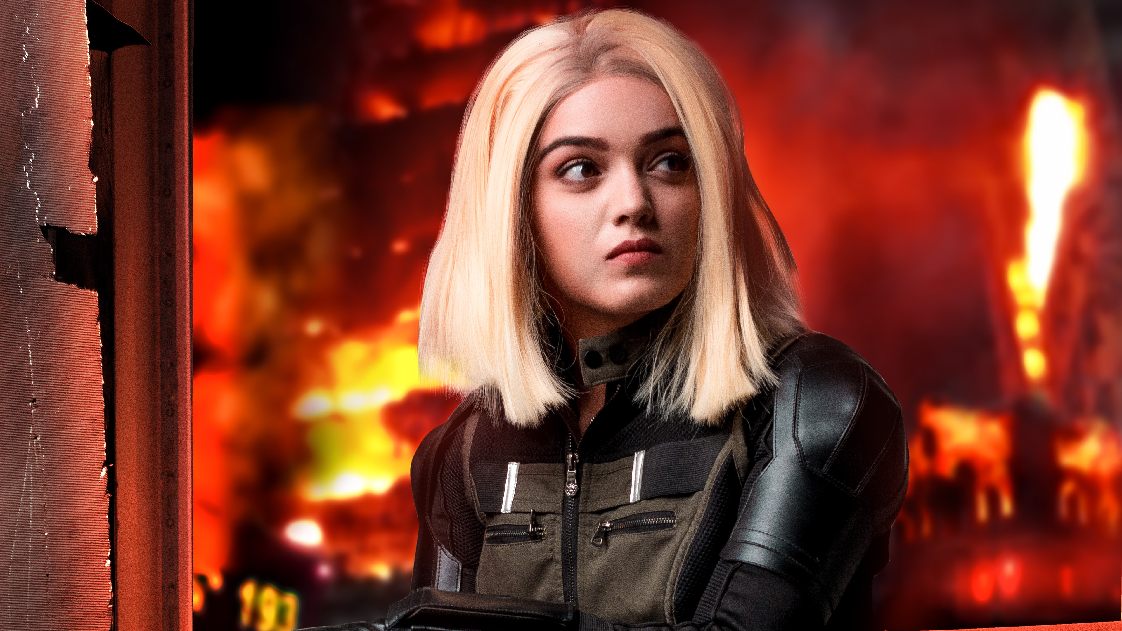 Black Widow Cosplay New Hd Superheroes 4k Wallpapers