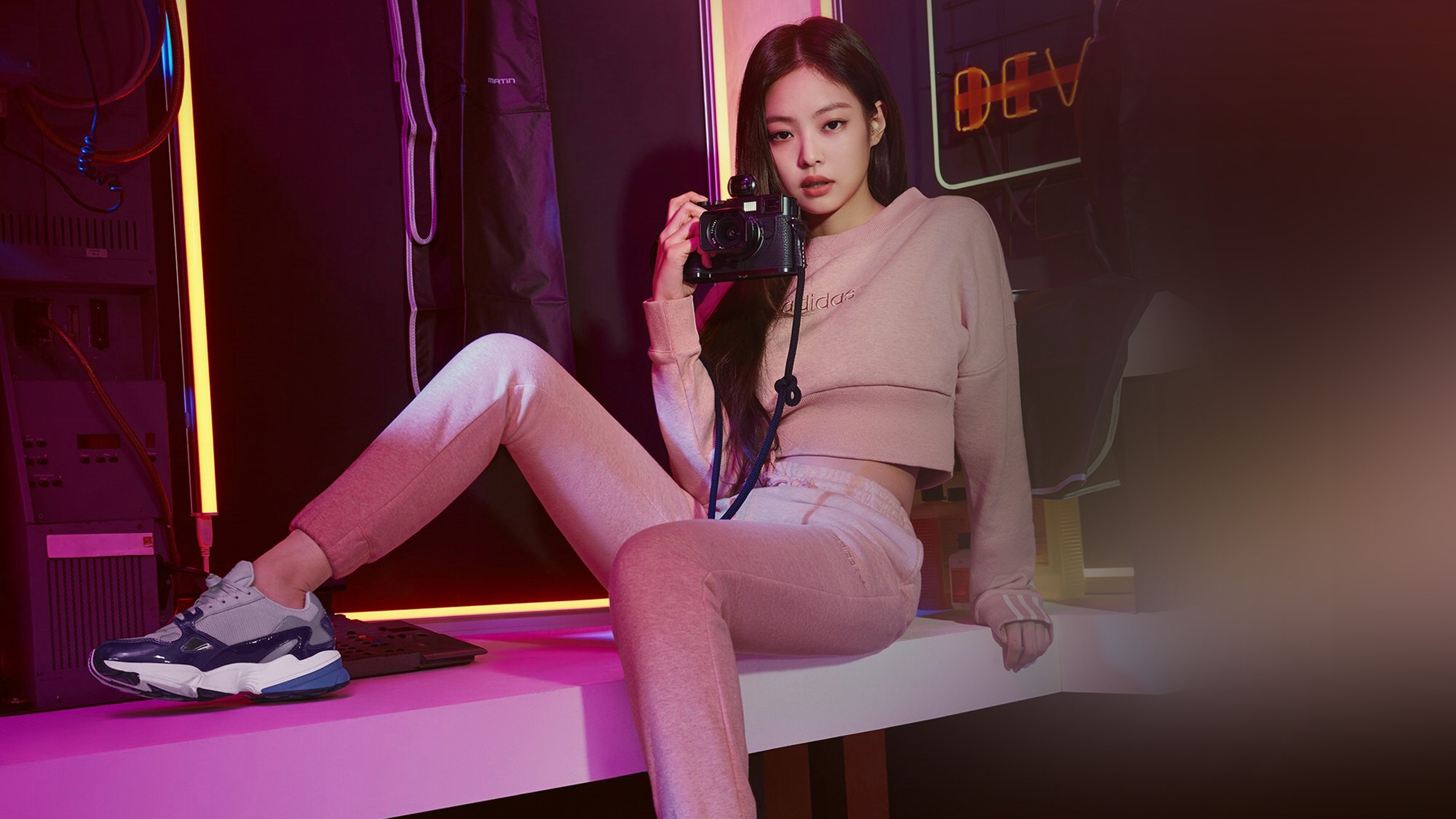 Blackpink Jennie Adidas Hd Music 4k Wallpapers Images Backgrounds Photos And Pictures