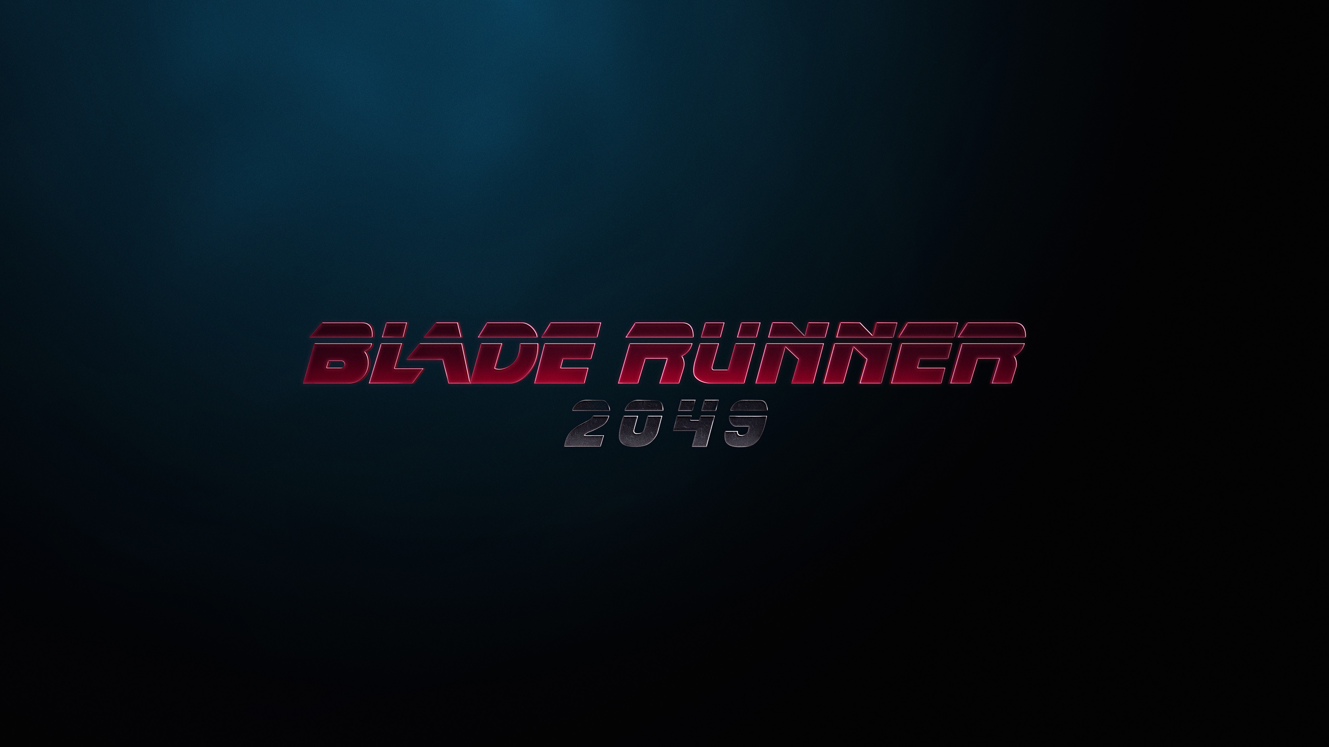 Blade Runner 2049 Logo 5k Hd Movies 4k Wallpapers Images