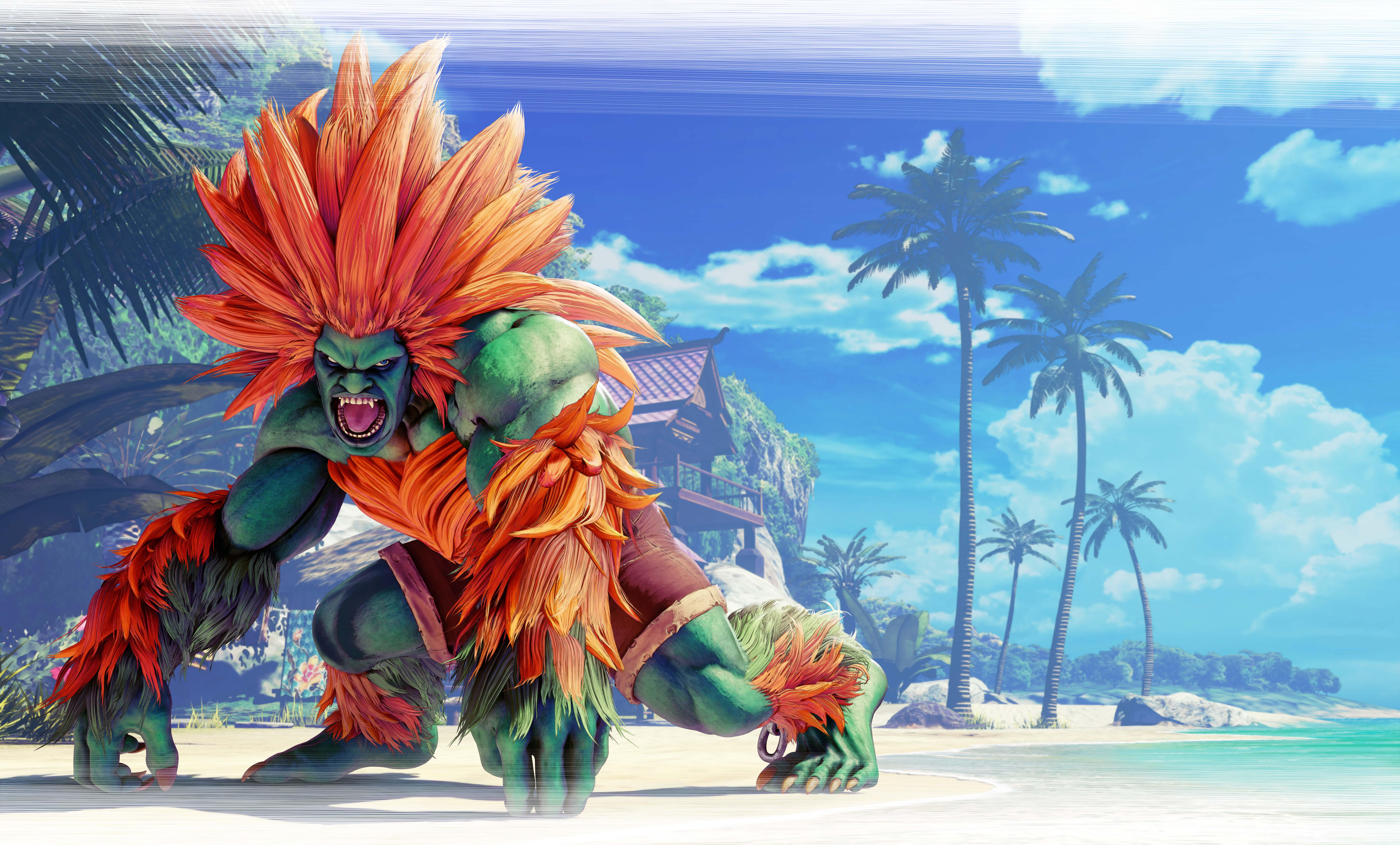 Blanka Street Fighter V 8k Hd Games 4k Wallpapers Images
