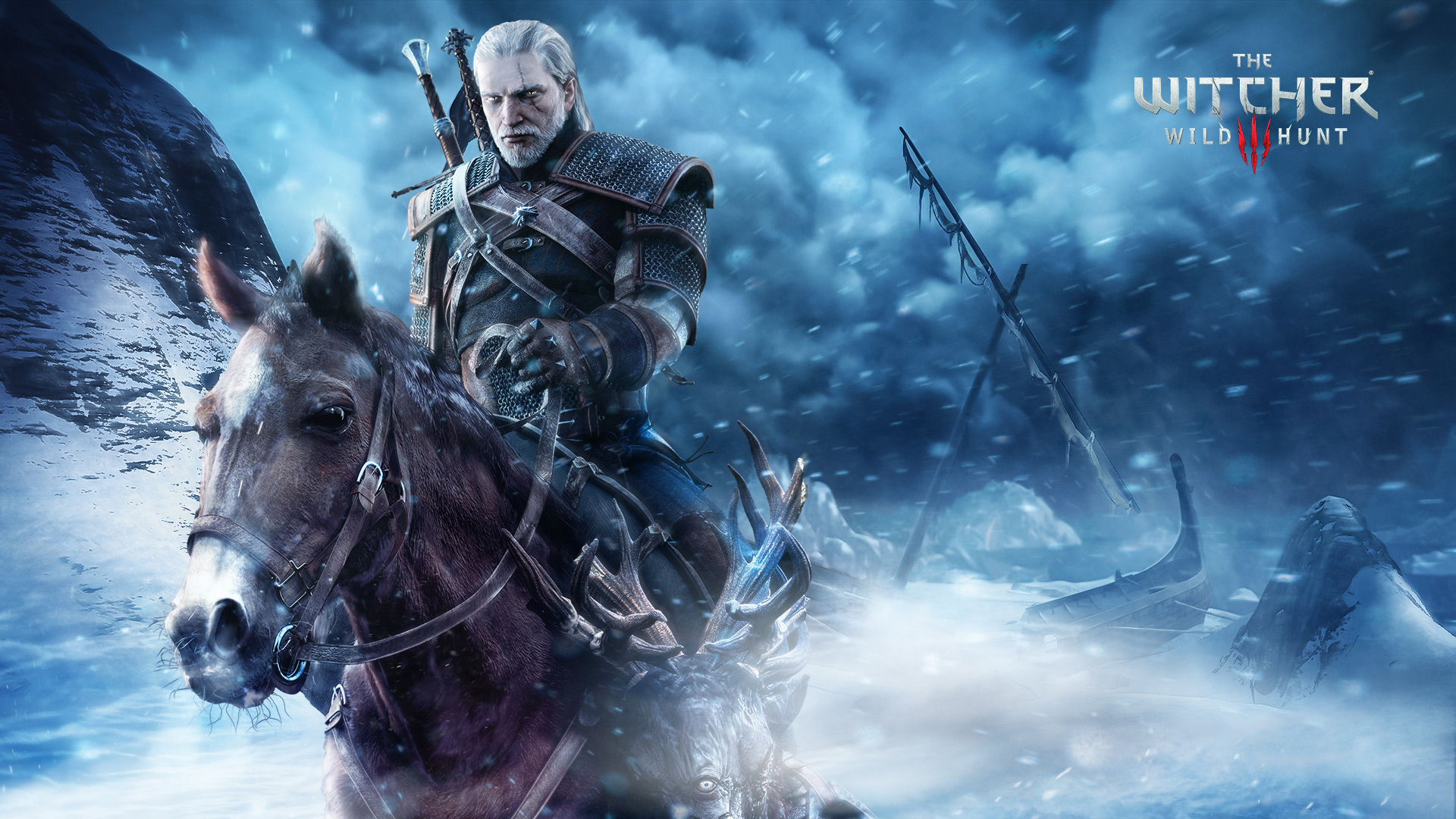 1920x1080 Blizzard Gerald Roach The Witcher 3 Laptop Full Hd