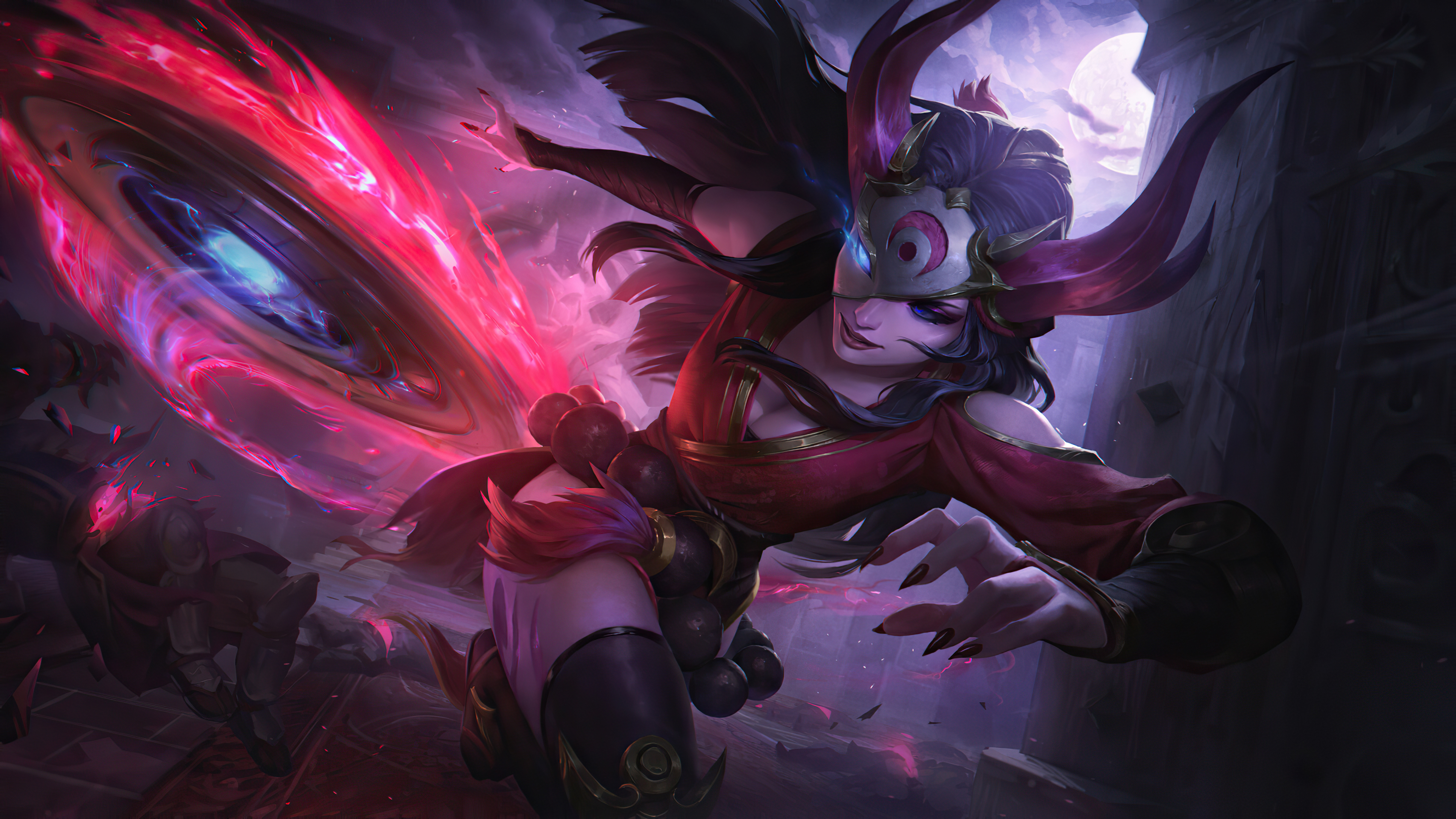 3840x2160 Blood Moon Sivir League Of Legends 4k Hd 4k Wallpapers Images Backgrounds Photos And Pictures
