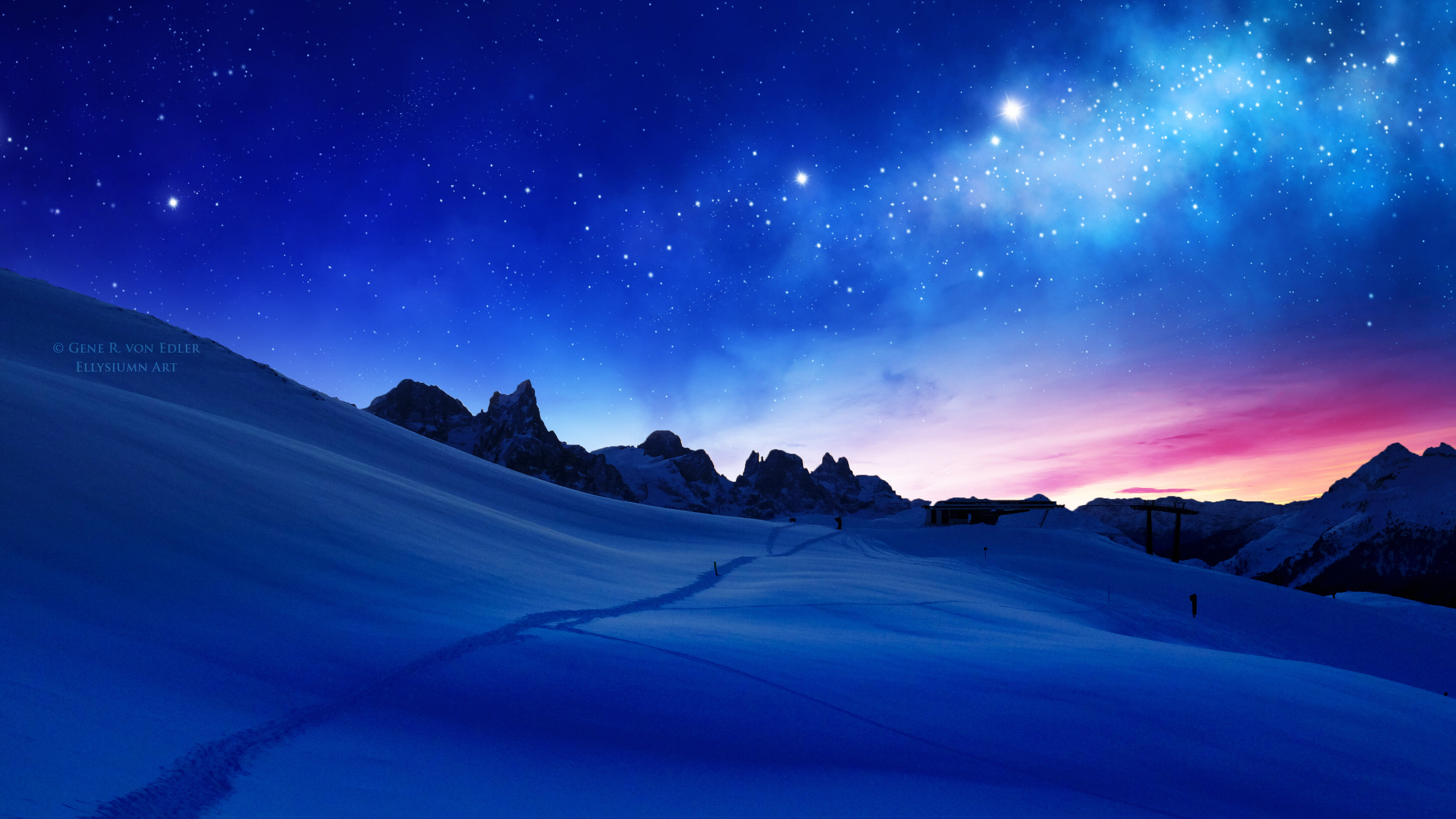 Blue Cool Sunset Hd Nature 4k Wallpapers Images Backgrounds Photos And Pictures