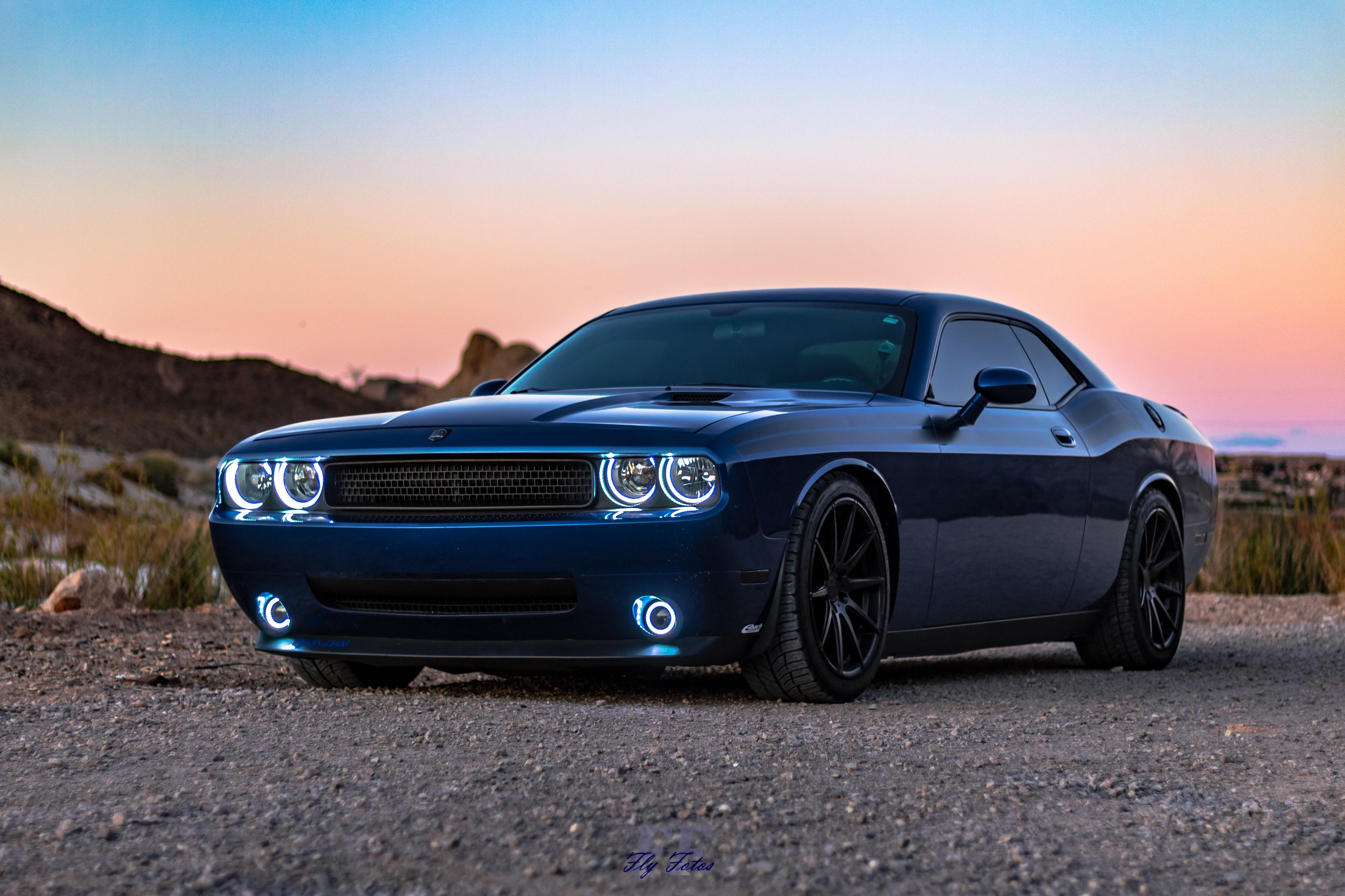 1920x1080 Blue Dodge Challenger 5k Laptop Full Hd 1080p Hd 4k Wallpapers Images Backgrounds Photos And Pictures