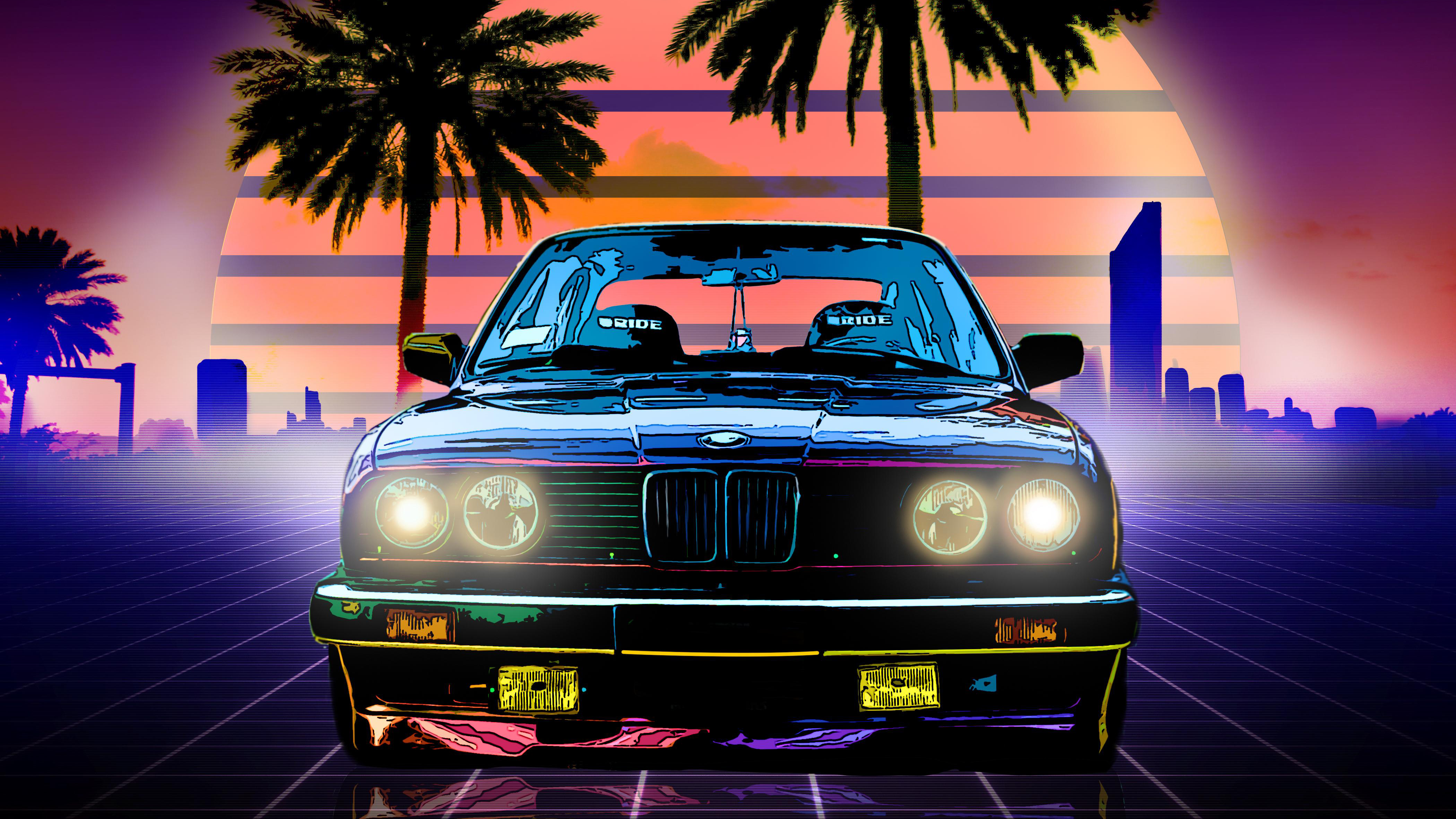 Bmw E30 Digital Art 4k Hd Artist 4k Wallpapers Images Backgrounds Photos And Pictures