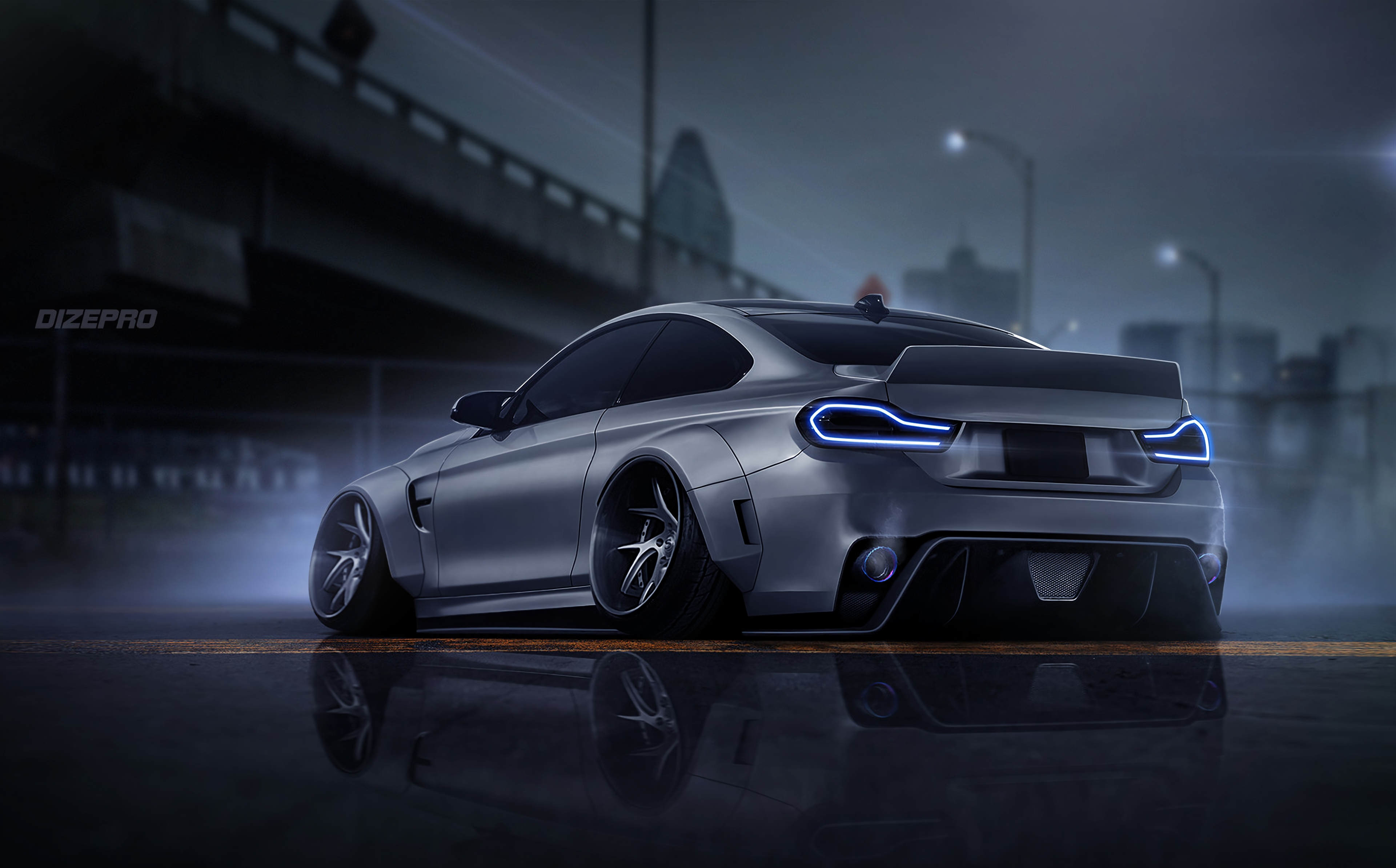 Bmw F82 Dark Side Car Digital Art 4k Hd Cars 4k Wallpapers