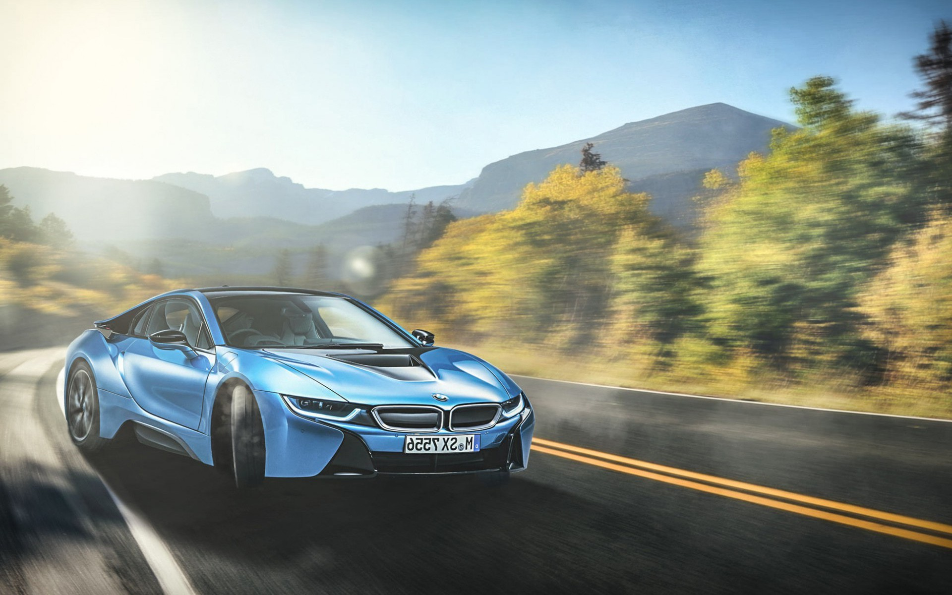 Bmw I8 Blue Hd Cars 4k Wallpapers Images Backgrounds Photos And Pictures