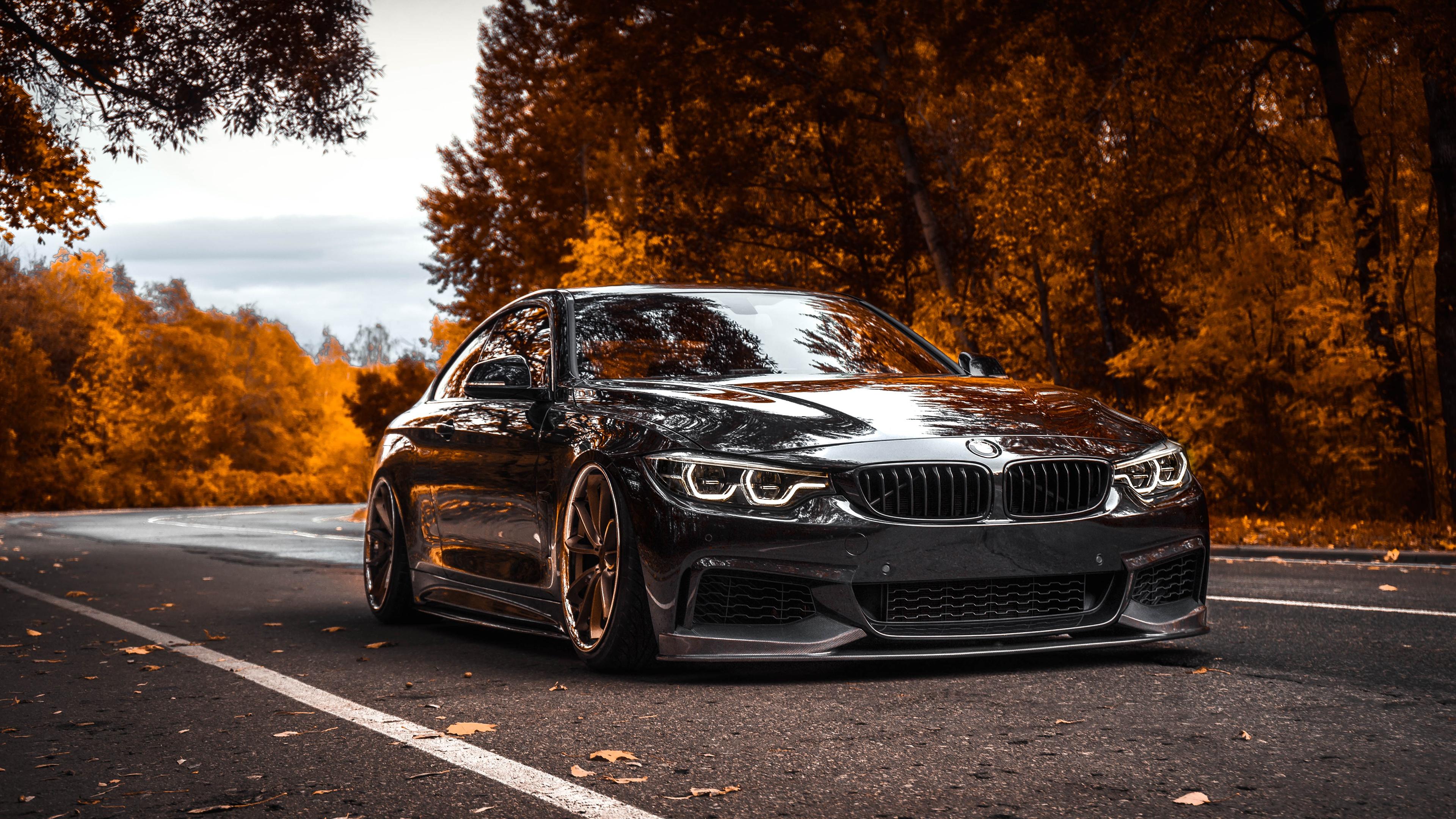 BMW Tuning 4 Series Black Metallic 4k, HD Cars, 4k ...