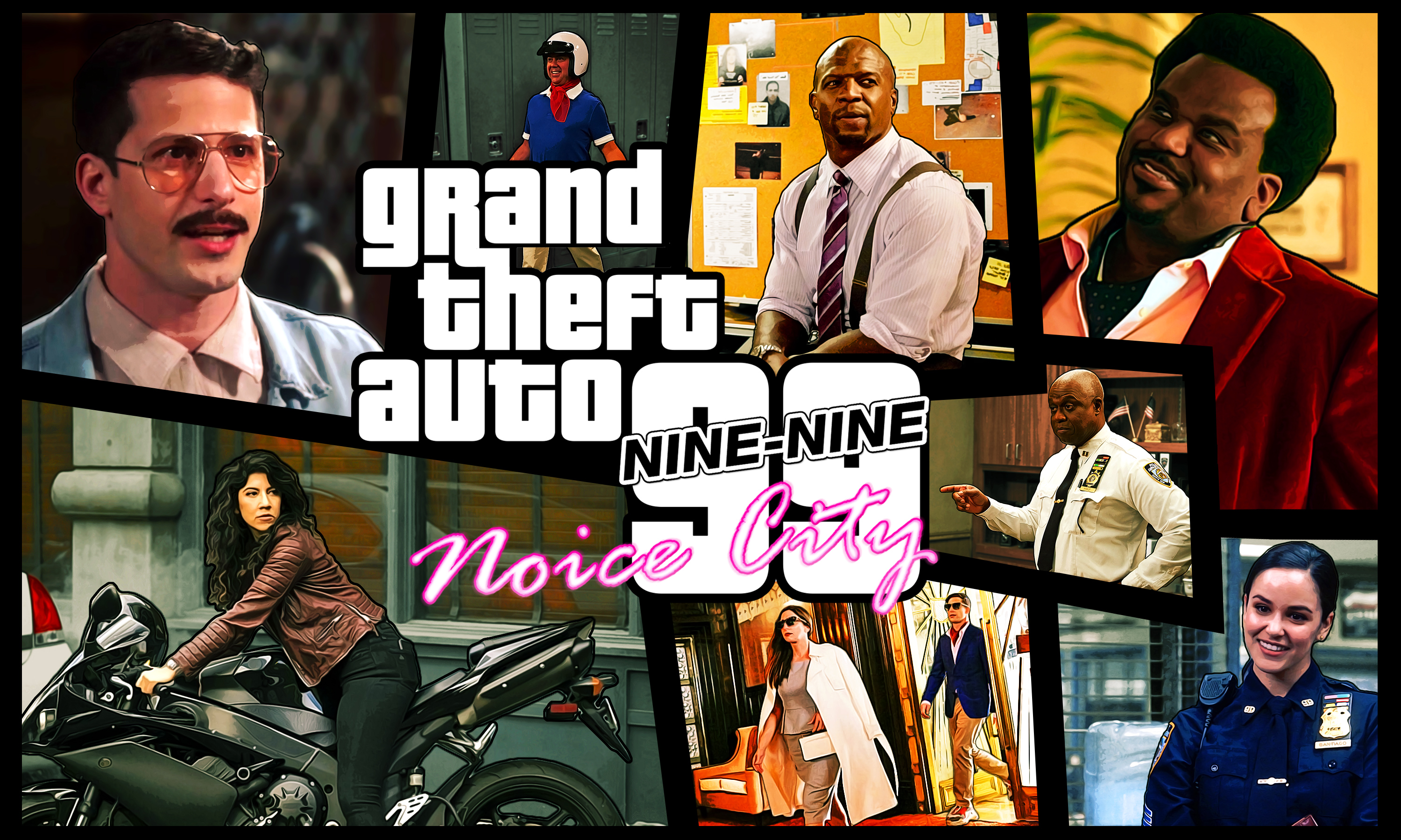 1920x1080 Brooklyn Nine Nine Gta 5 Laptop Full Hd 1080p Hd 4k