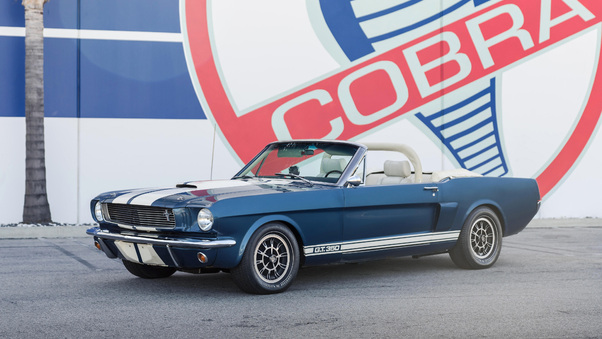 Full HD 1966 Shelby Gt350 Continuation Series Convertible Wallpaper