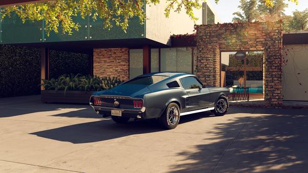 Full HD 2020 Ford Mustang Shelby Gt500 8k Wallpaper