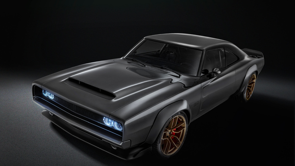Full HD 1968 Dodge Super Charger Concept Wallpaper