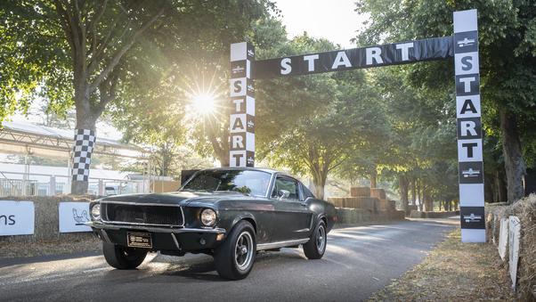 Full HD 1968 Mustang Gt Fastback Wallpaper
